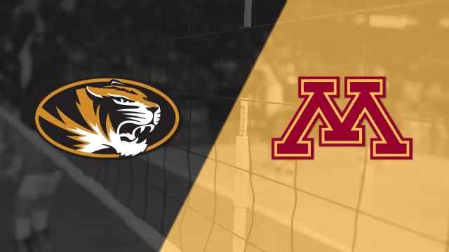 Missouri vs. Minnesota (Regional Semifinal #1) (NCAA Volleyball Championship)