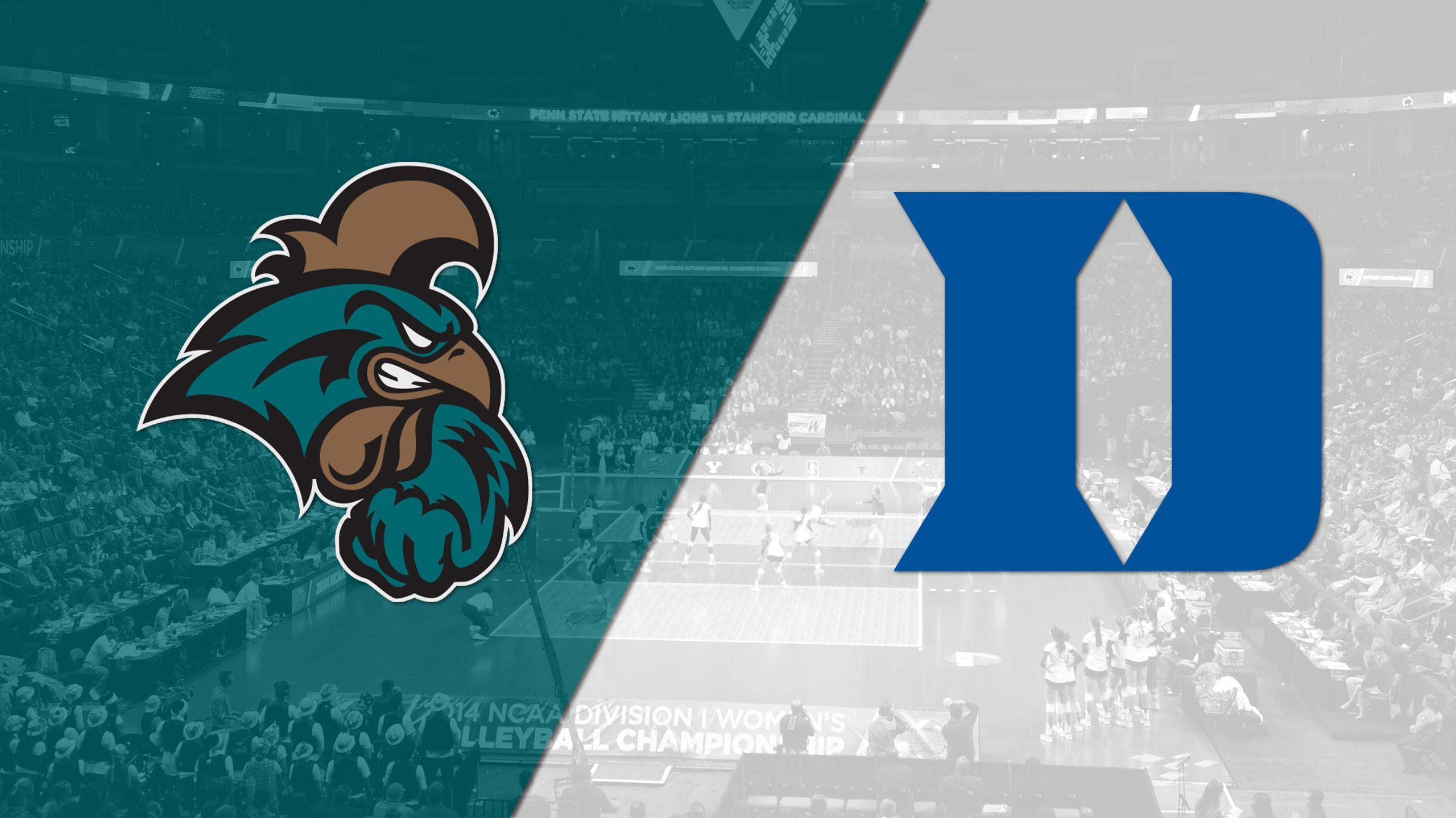 Coastal Carolina vs. Duke (W Volleyball)