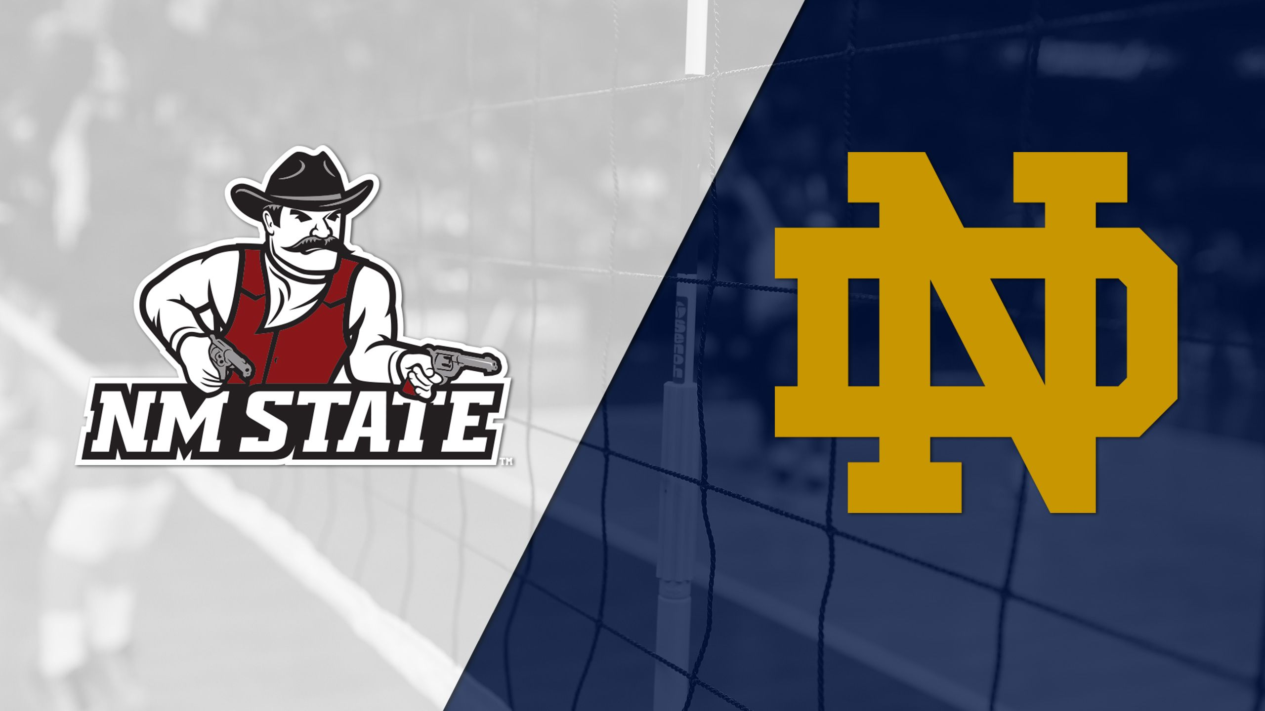New Mexico State vs. Notre Dame (W Volleyball)