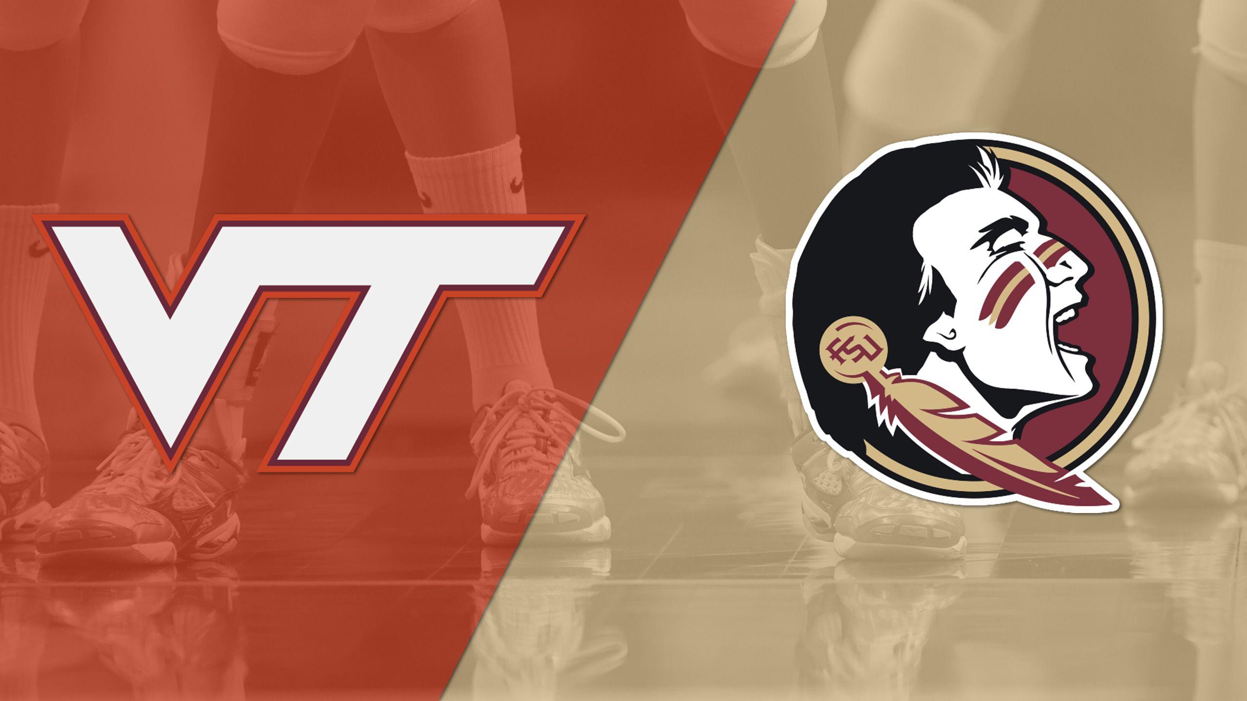 Virginia Tech vs. #19 Florida State (W Volleyball)