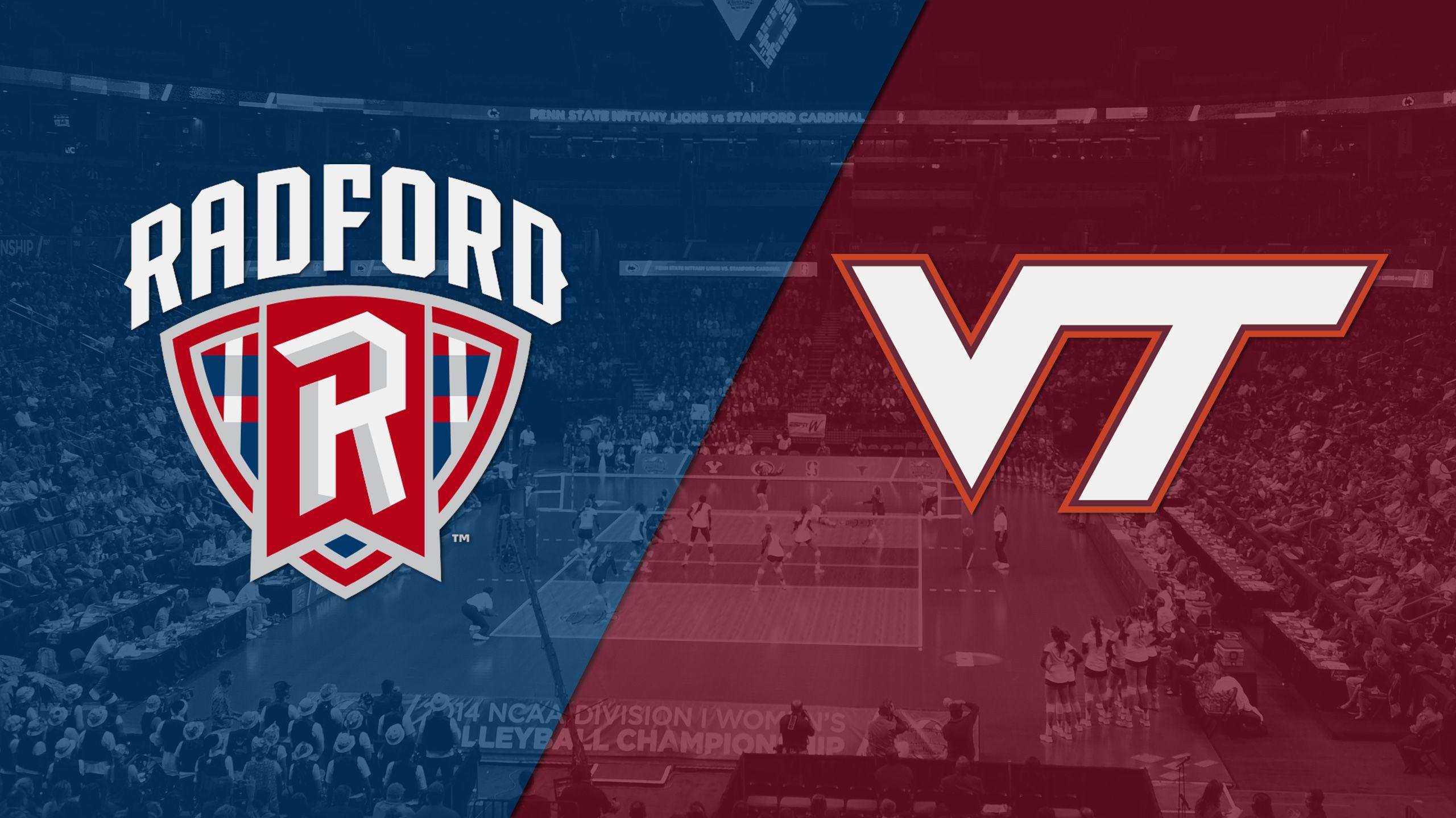 Radford vs. Virginia Tech (W Volleyball)