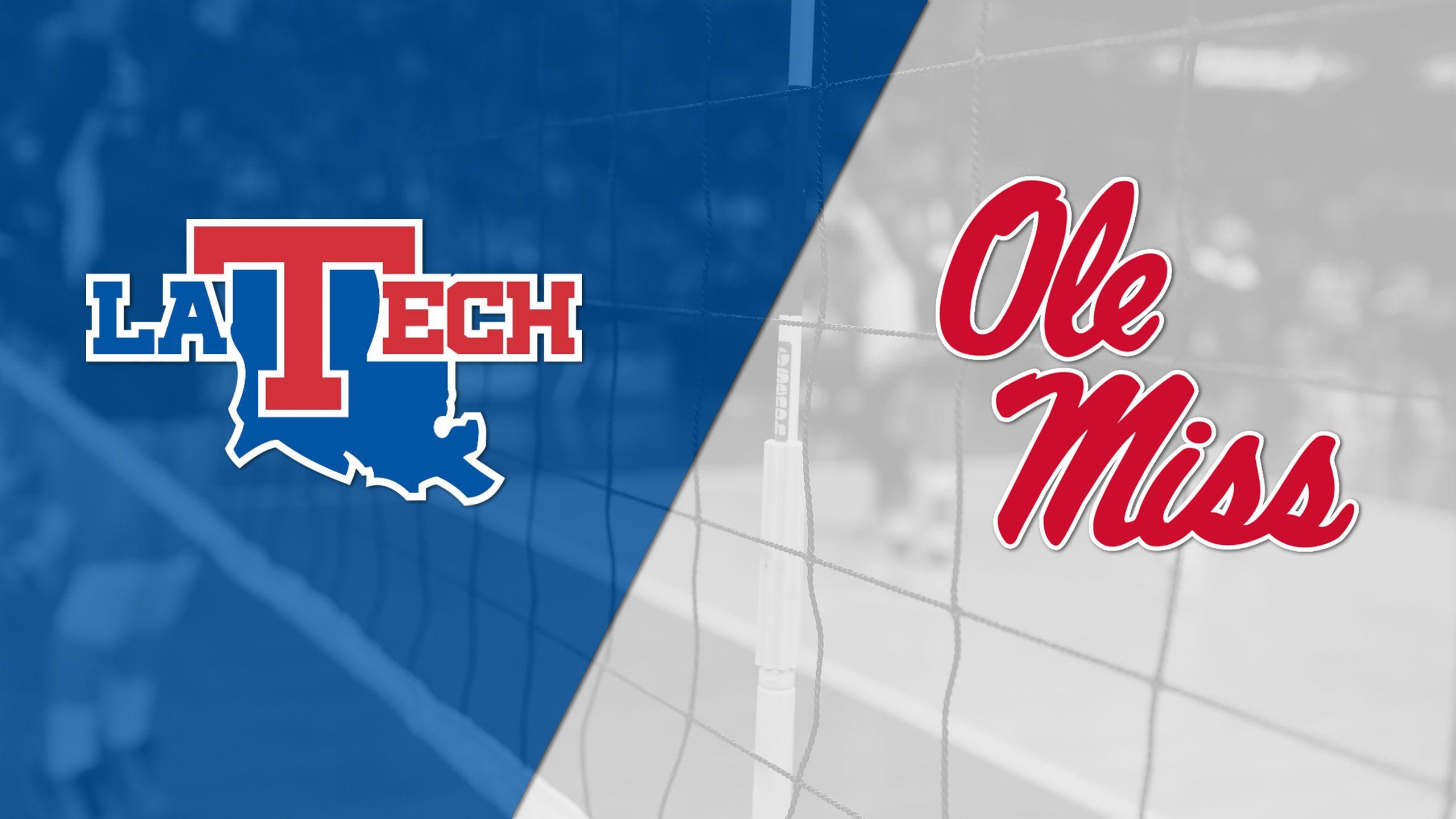 Louisiana Tech vs. Ole Miss (W Volleyball)