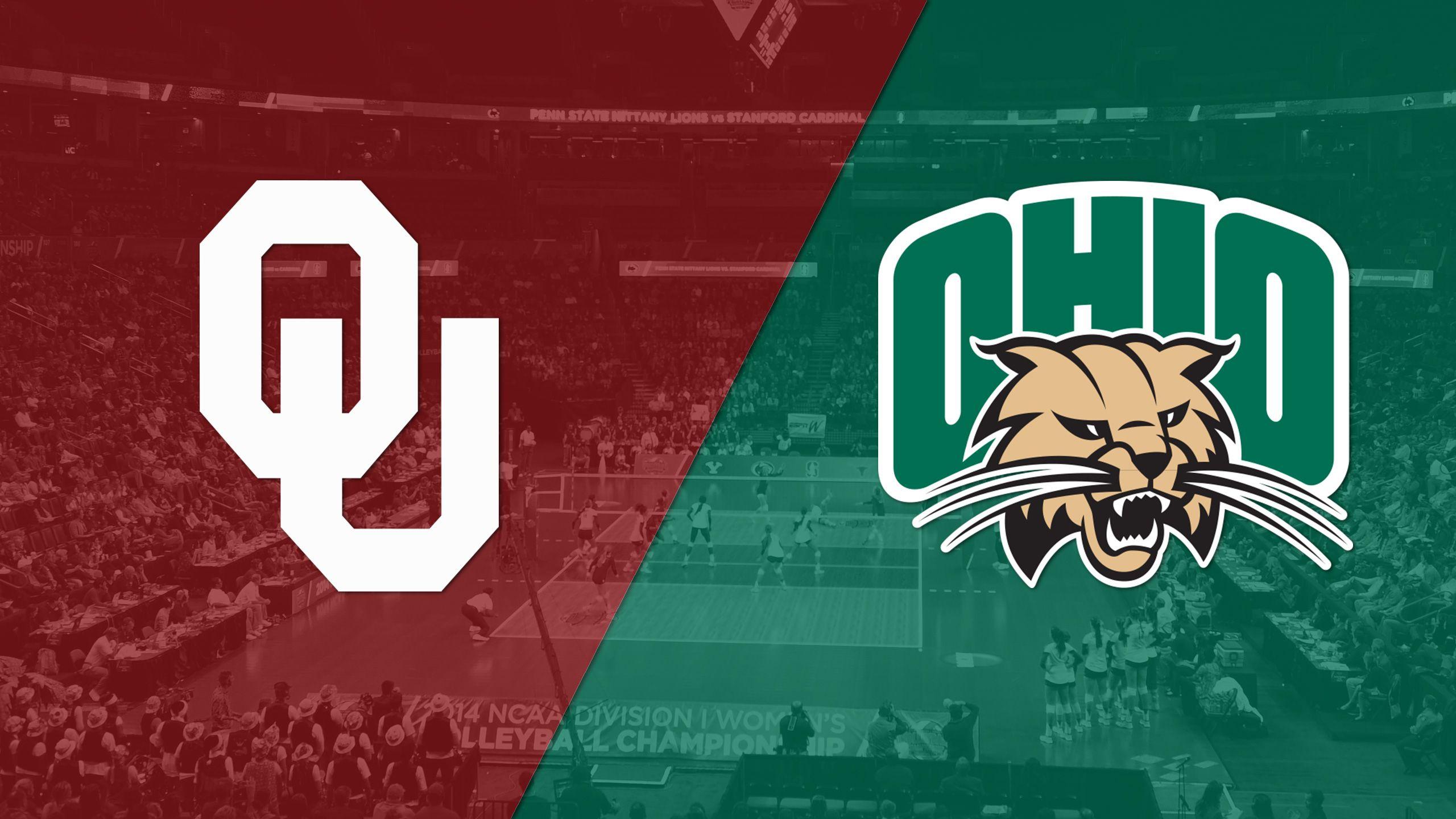 Oklahoma vs. Ohio (W Volleyball)