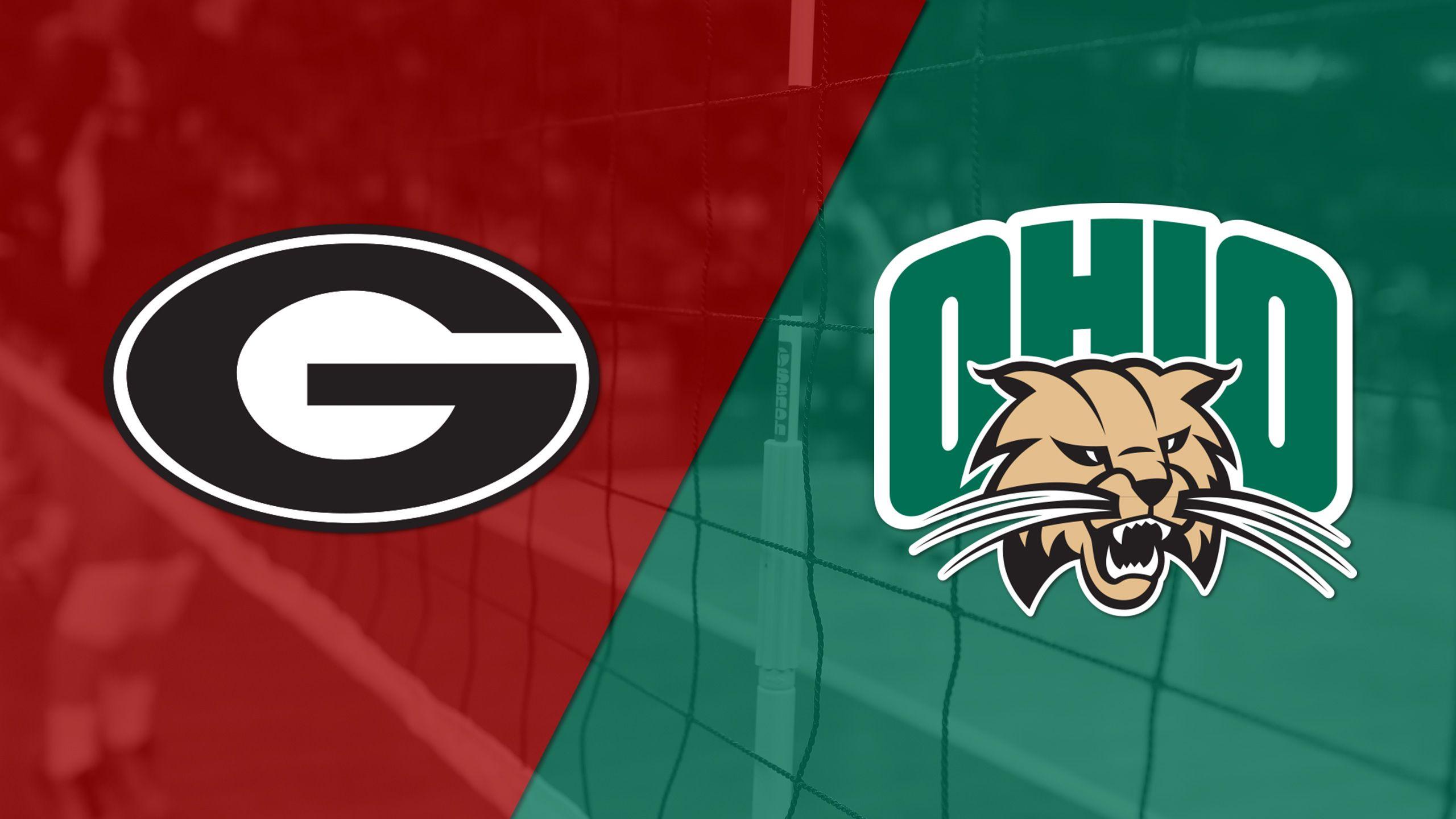 Georgia vs. Ohio (W Volleyball)