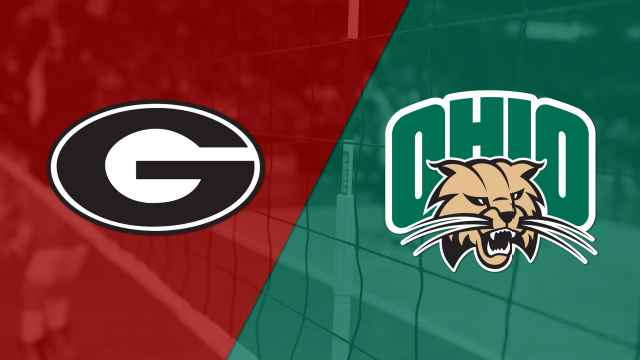 Georgia vs. Ohio (W Volleyball)