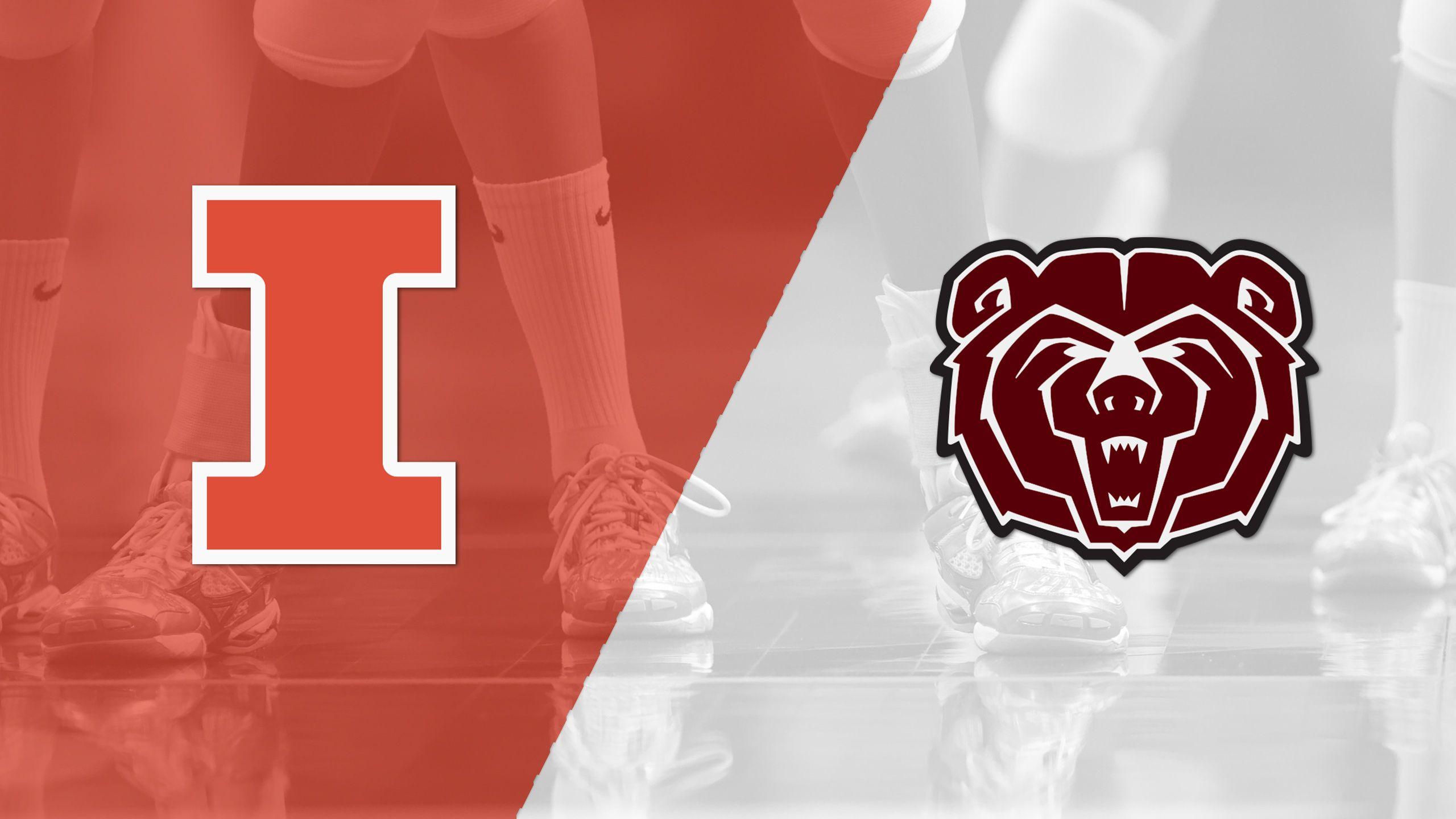 Illinois vs. Missouri State (W Volleyball)