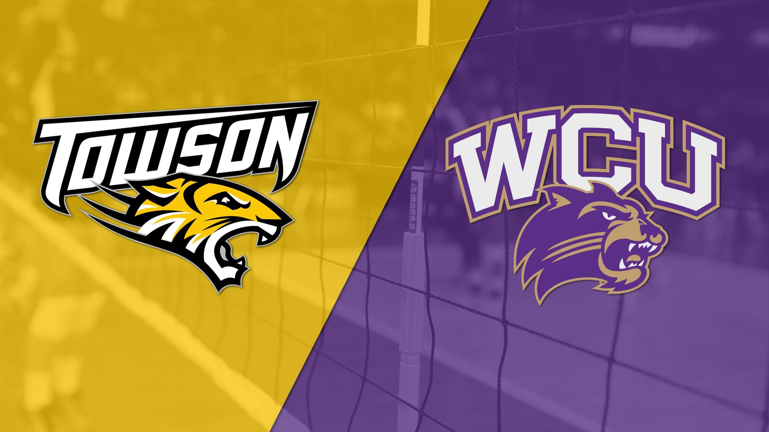 Towson vs. Western Carolina (W Volleyball)