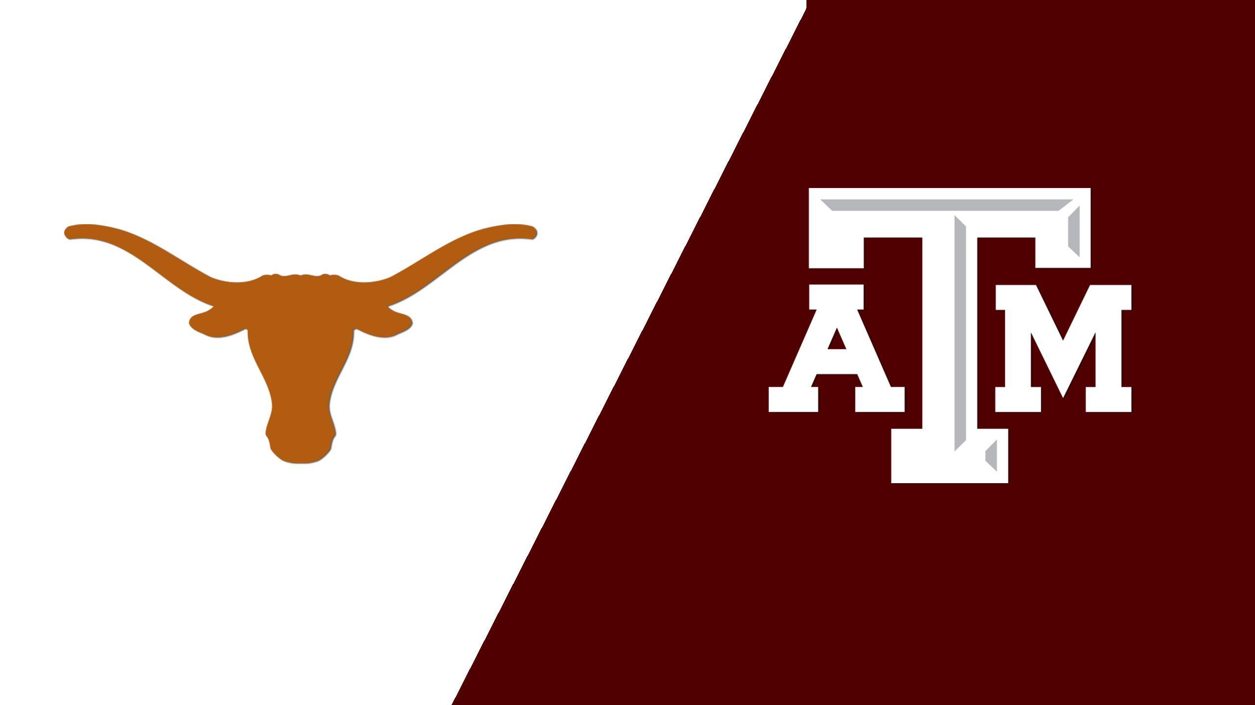 Texas vs. Texas A&M (W Volleyball) (re-air)
