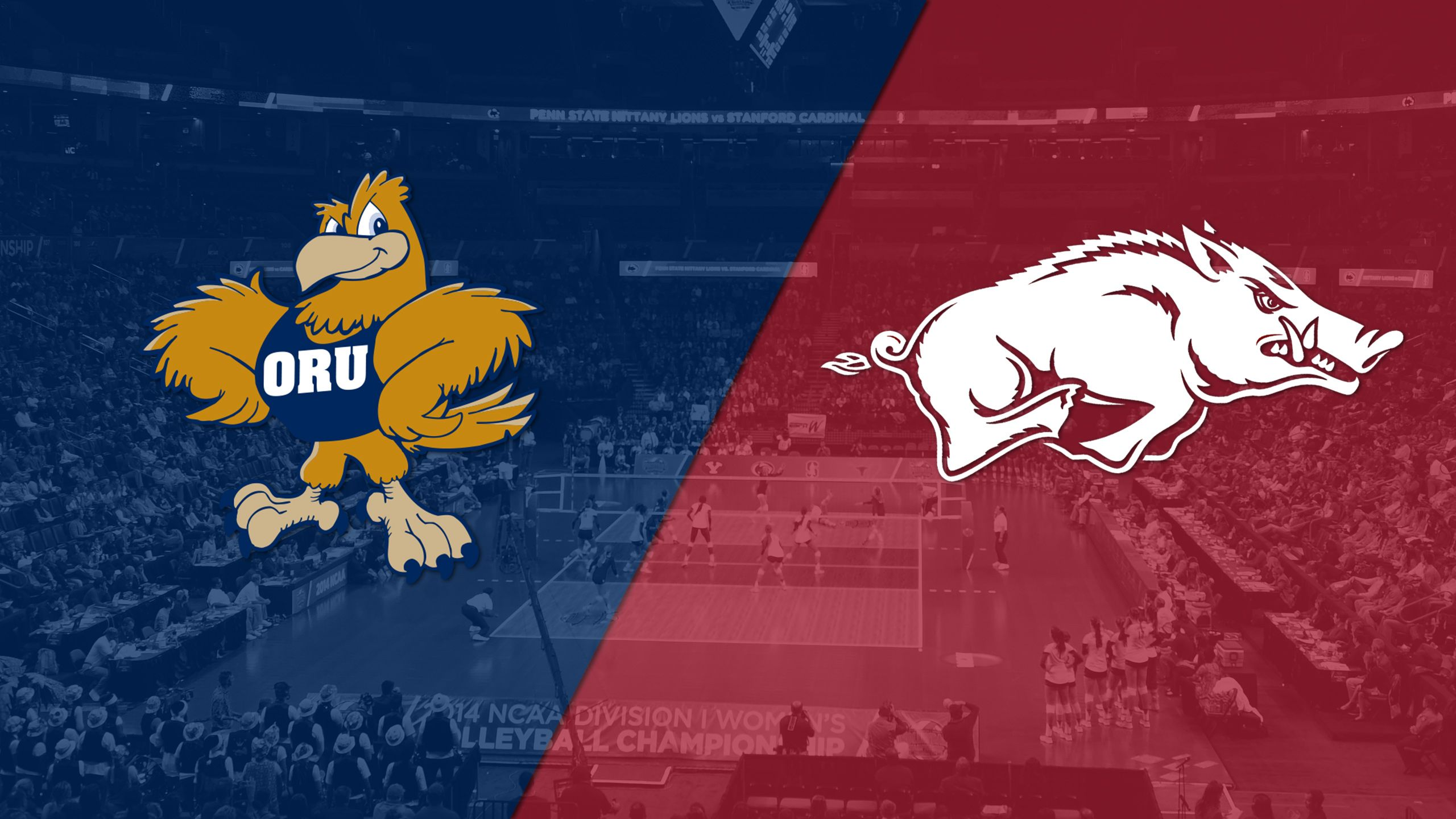 Oral Roberts vs. Arkansas (W Volleyball)