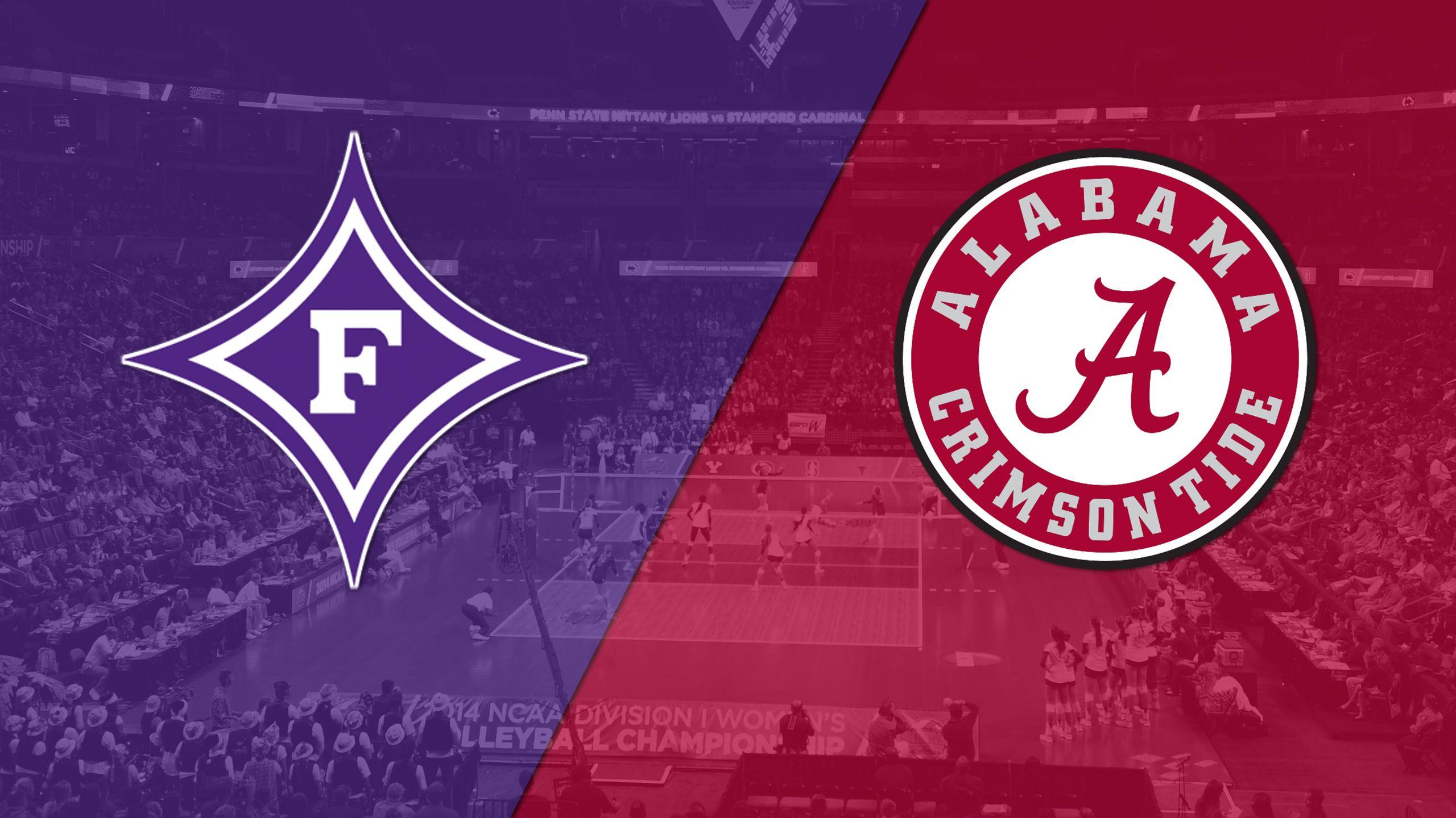 Furman vs. Alabama (W Volleyball)