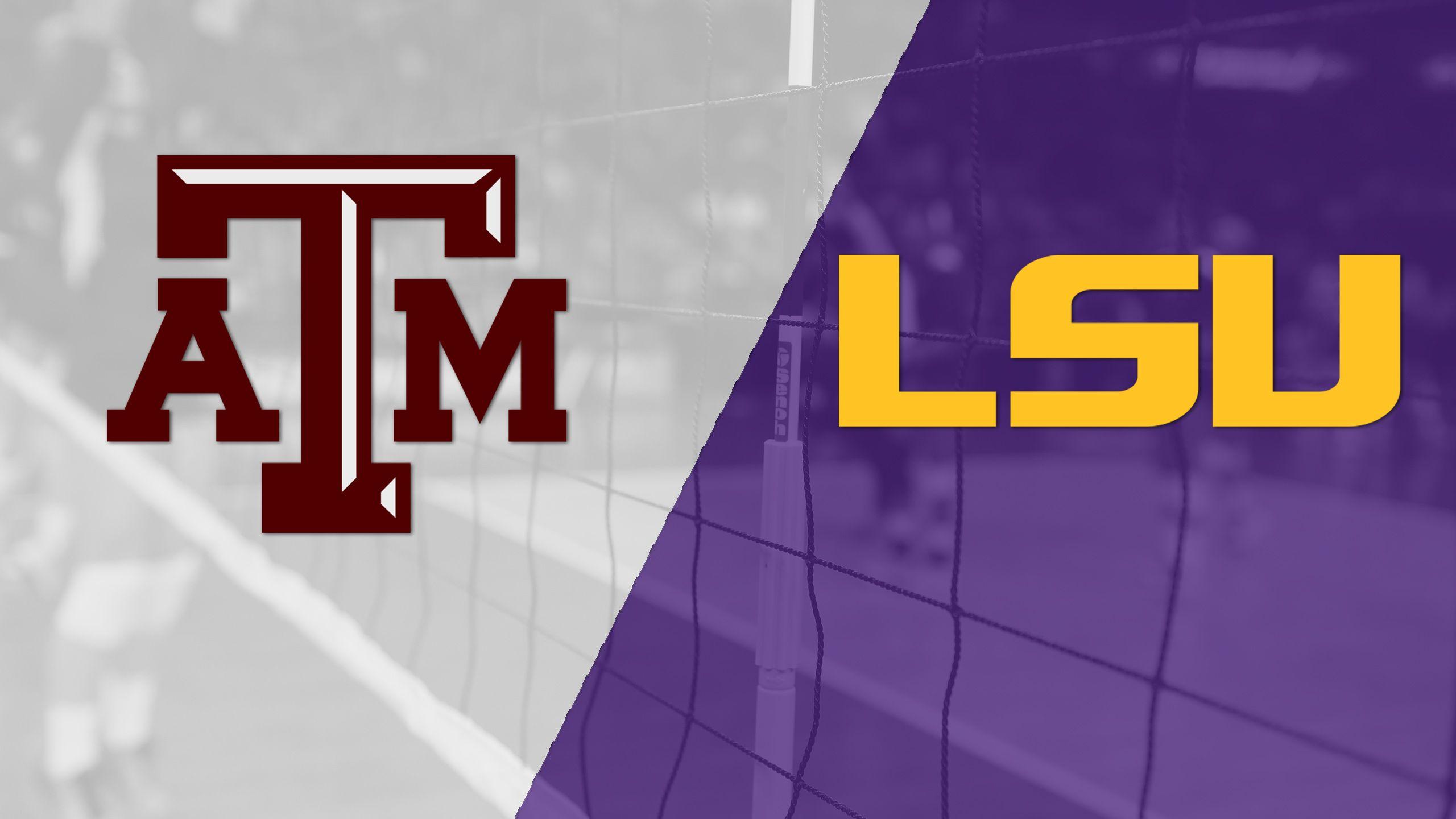 Texas A&M vs. LSU (W Volleyball)
