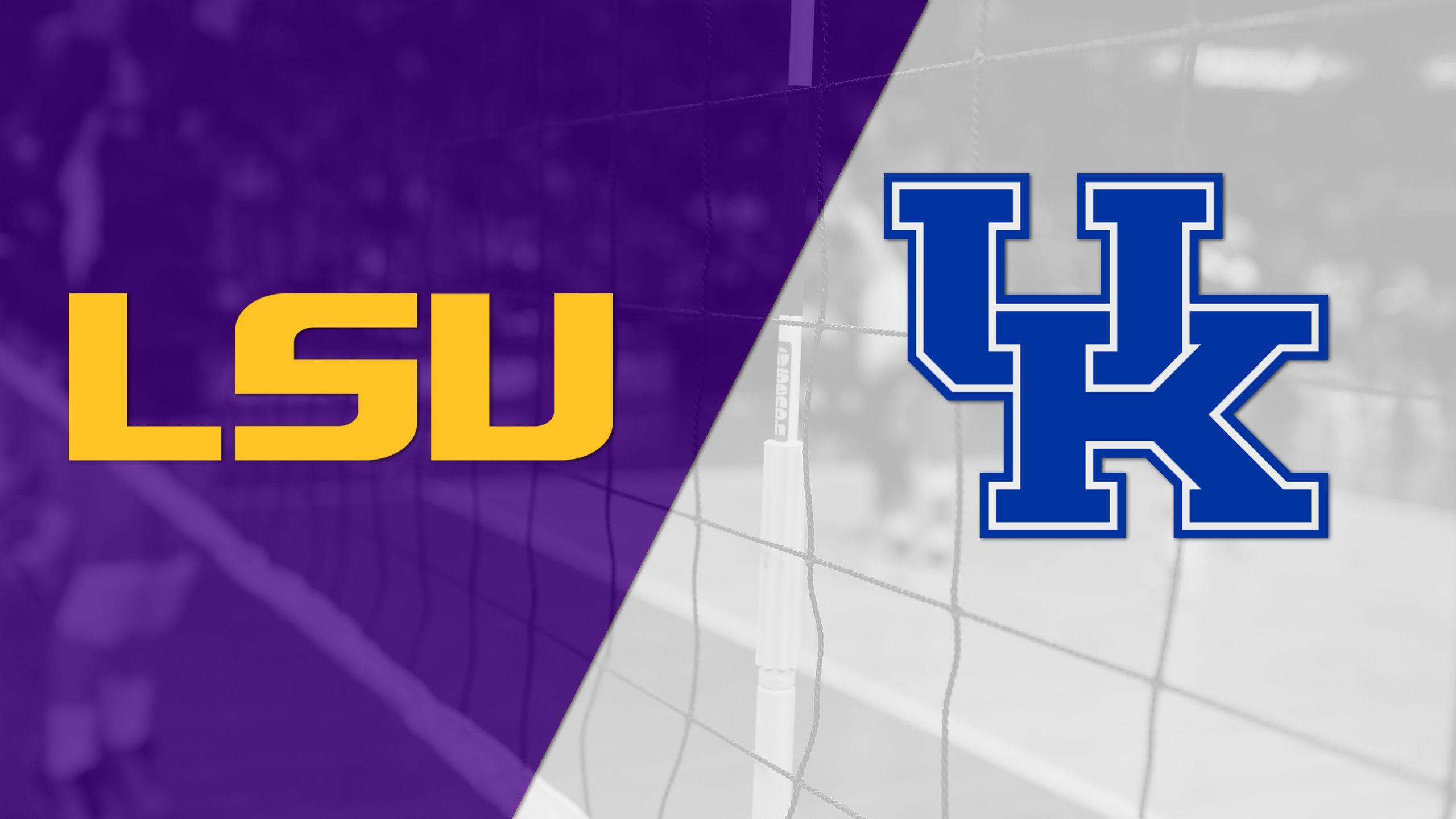 LSU vs. #10 Kentucky (W Volleyball)