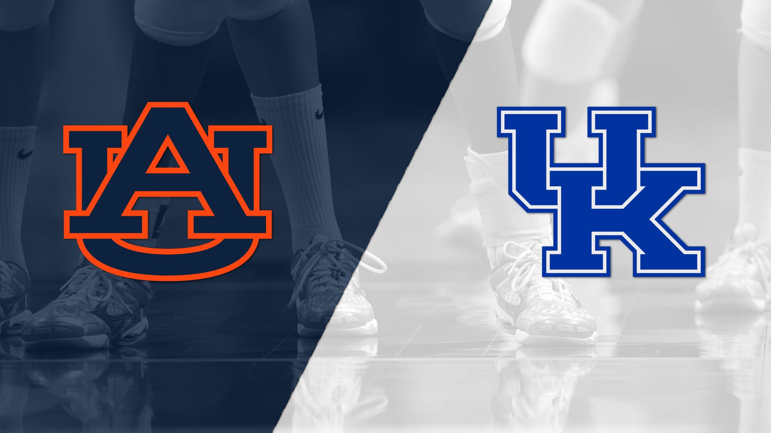 Auburn vs. #10 Kentucky (W Volleyball)