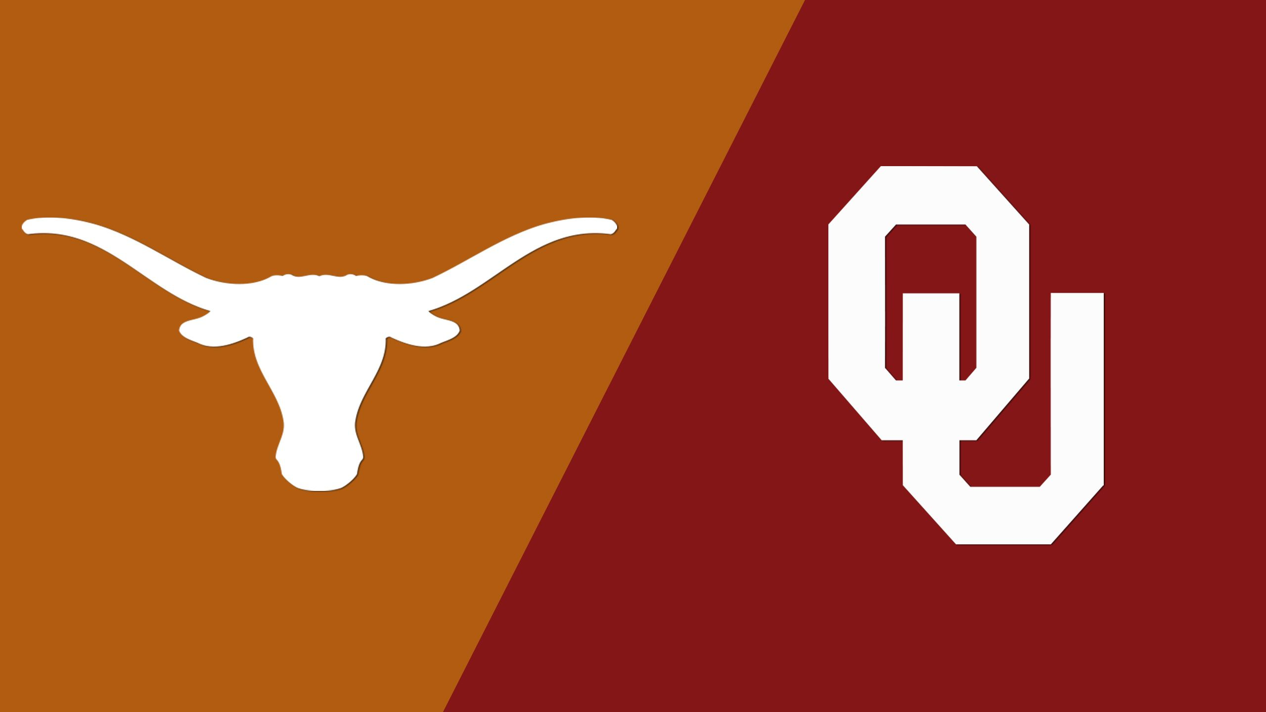 Texas vs. Oklahoma (W Volleyball) (re-air)