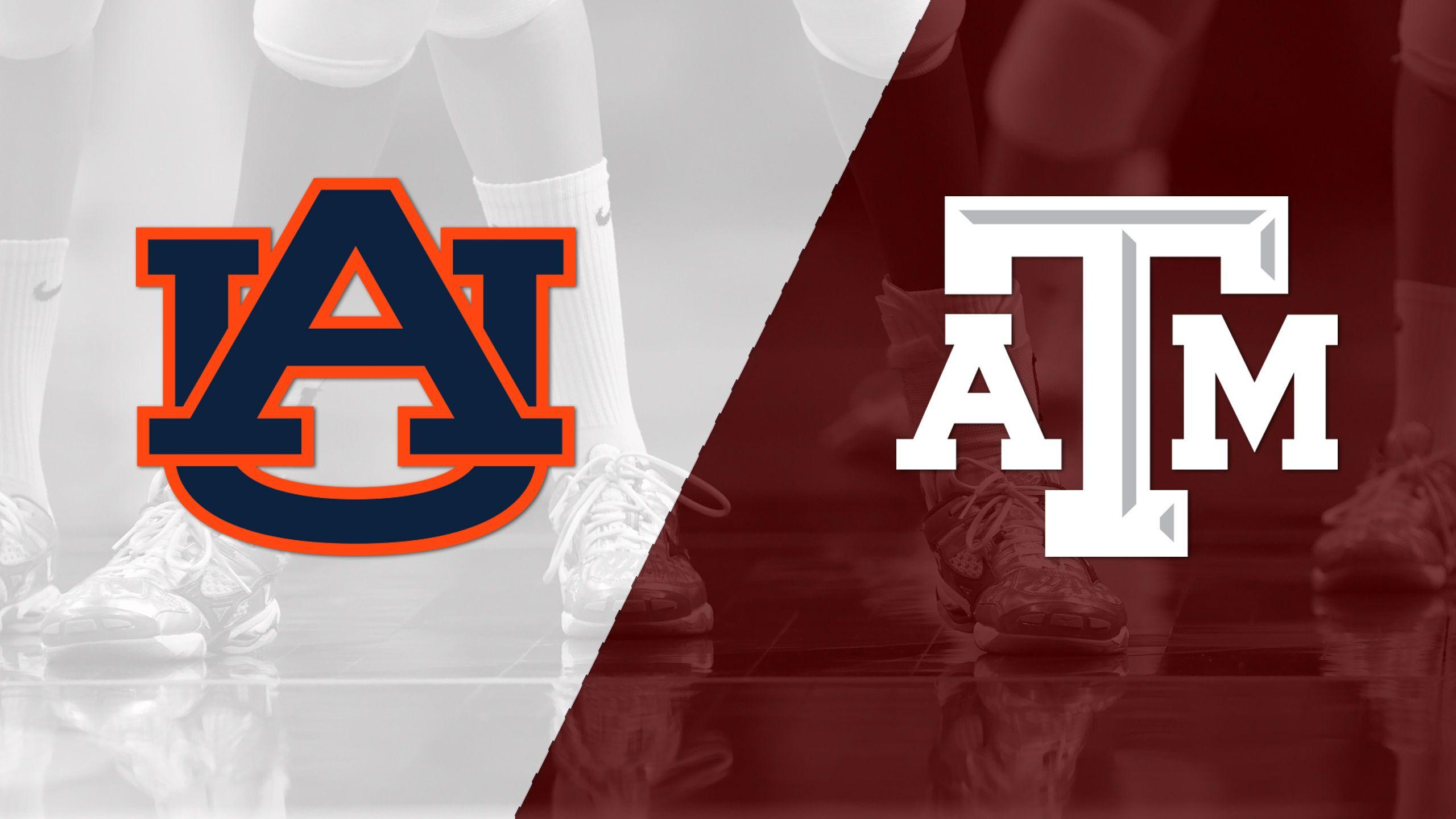 Auburn vs. Texas A&M (W Volleyball)