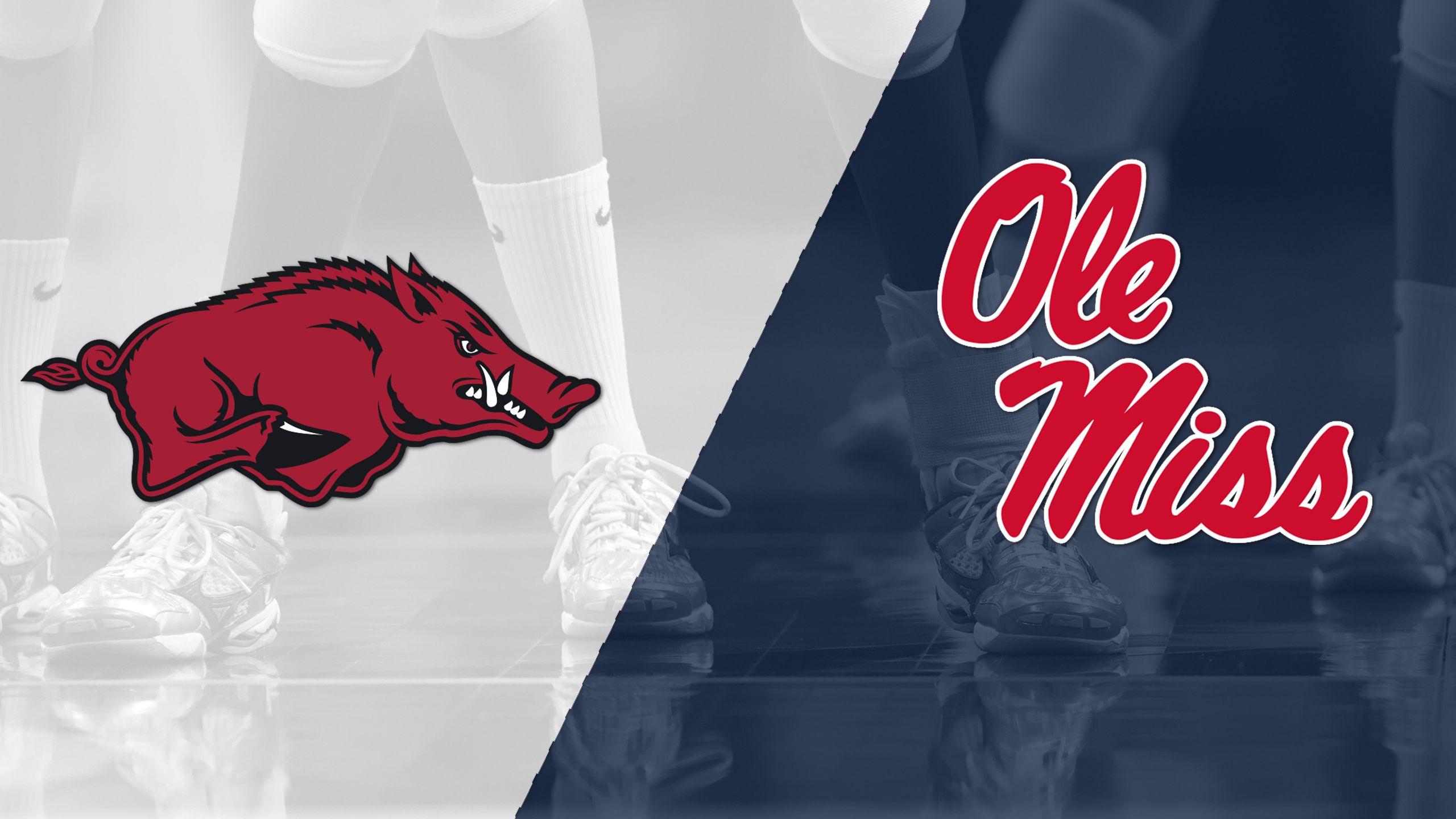 Arkansas vs. Ole Miss (W Volleyball)