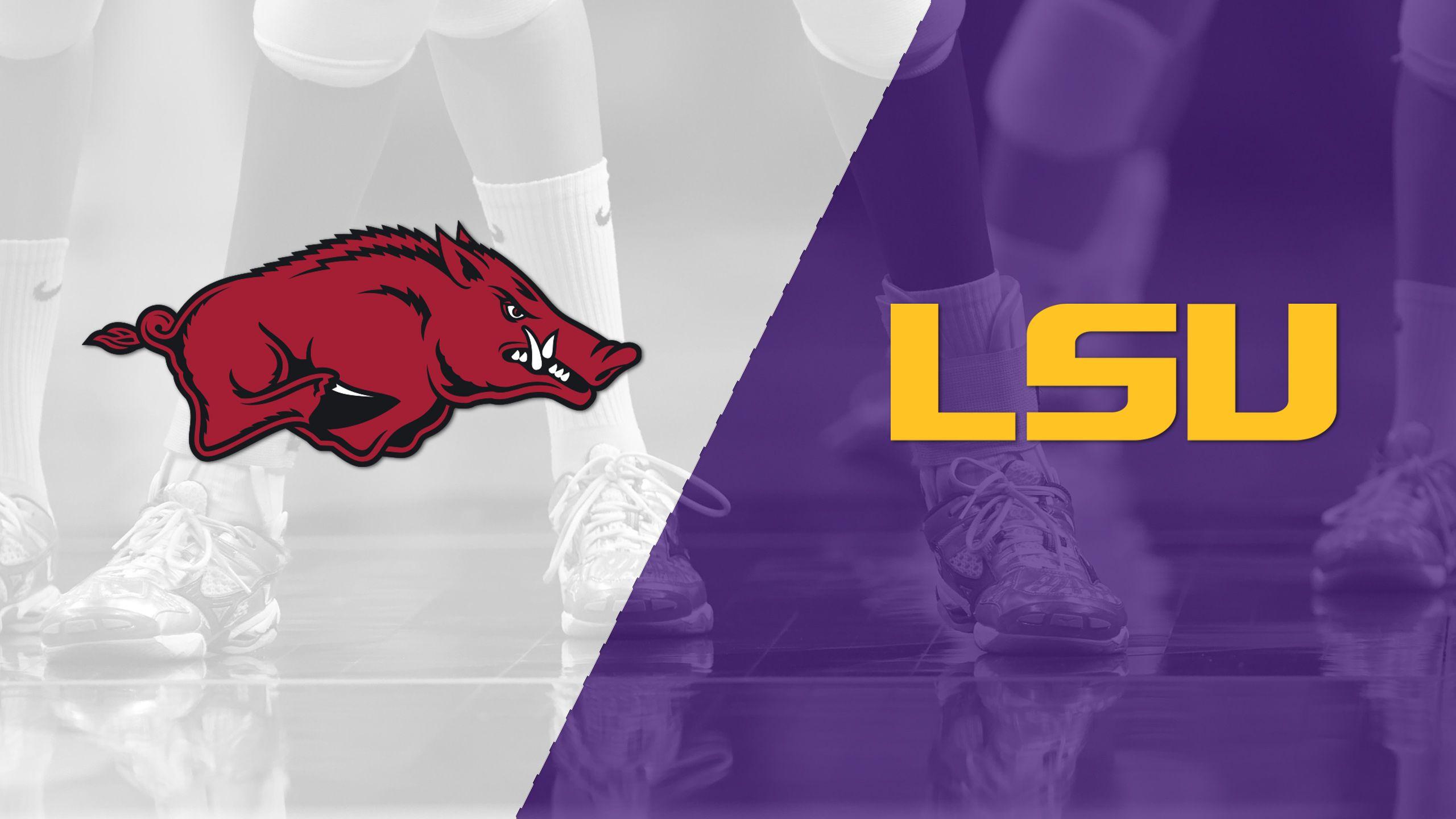 Arkansas vs. LSU (W Volleyball)