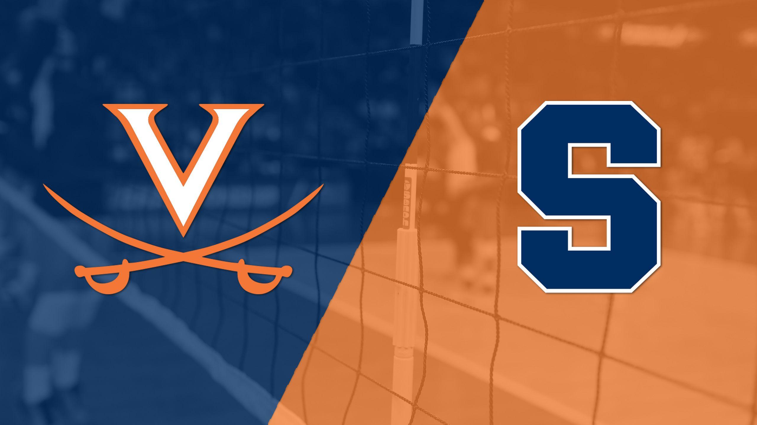 Virginia vs. Syracuse (W Volleyball)