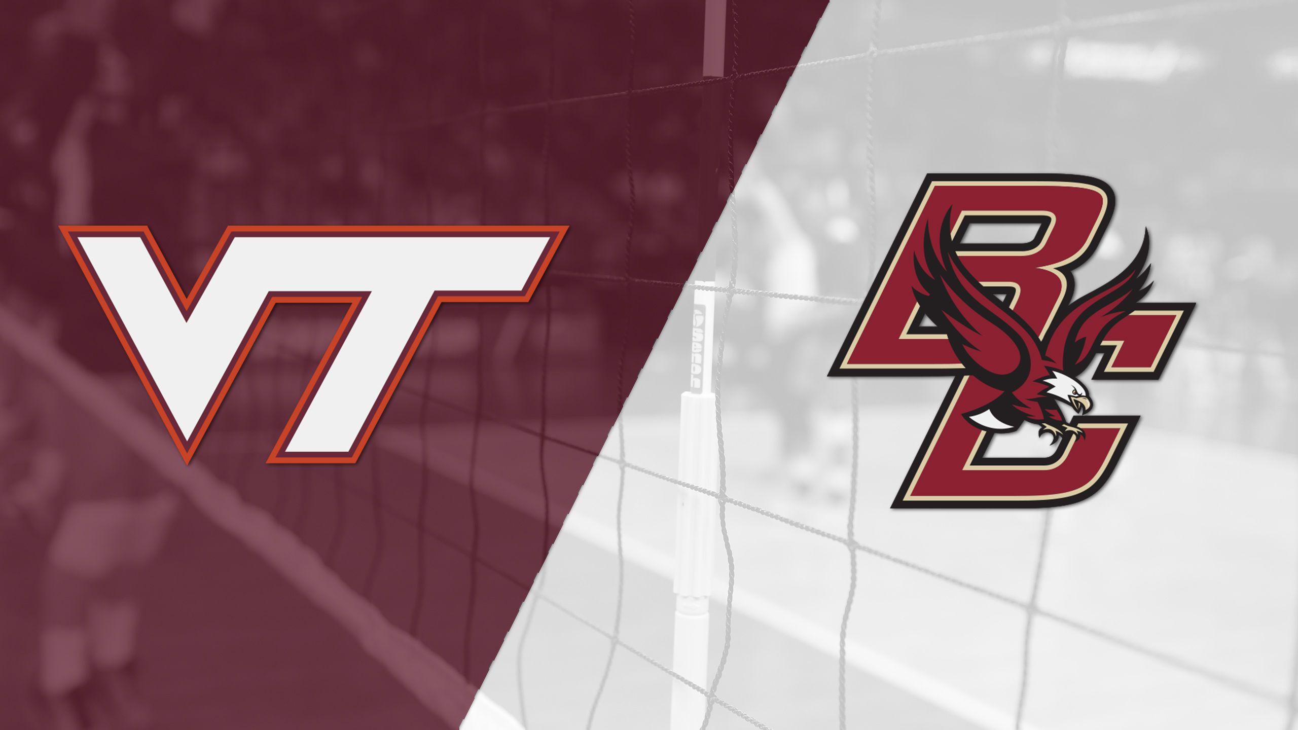 Virginia Tech vs. Boston College (W Volleyball)