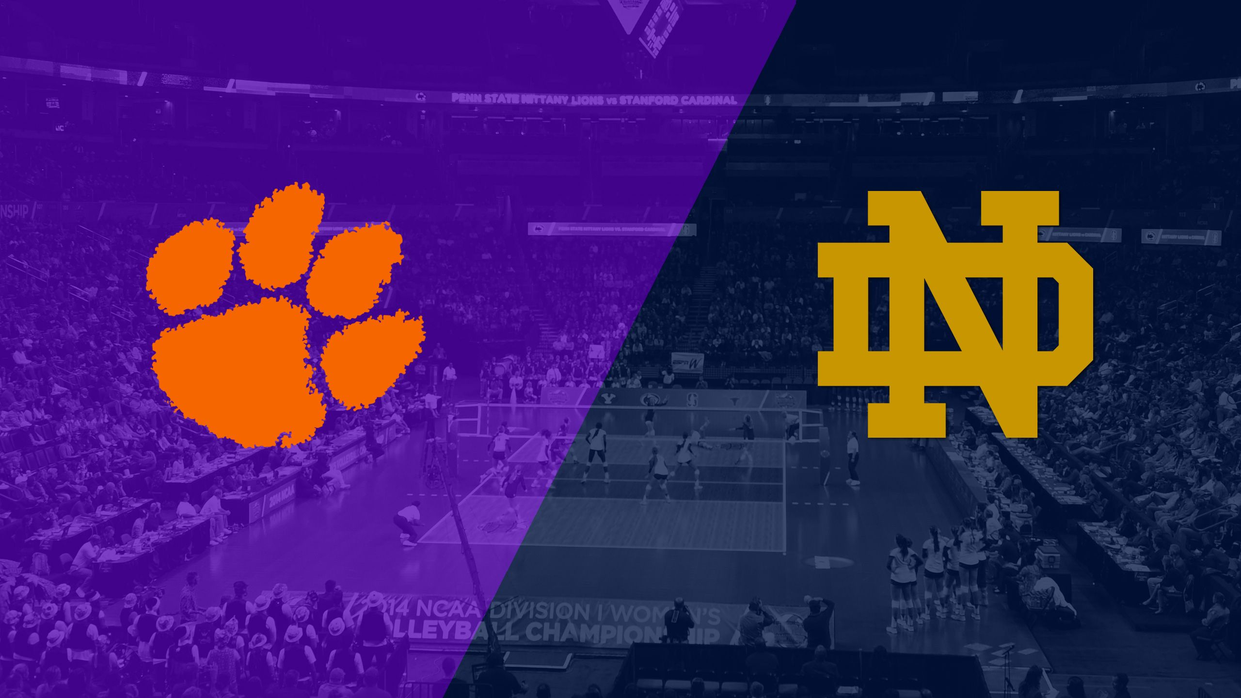 Clemson vs. Notre Dame (W Volleyball)