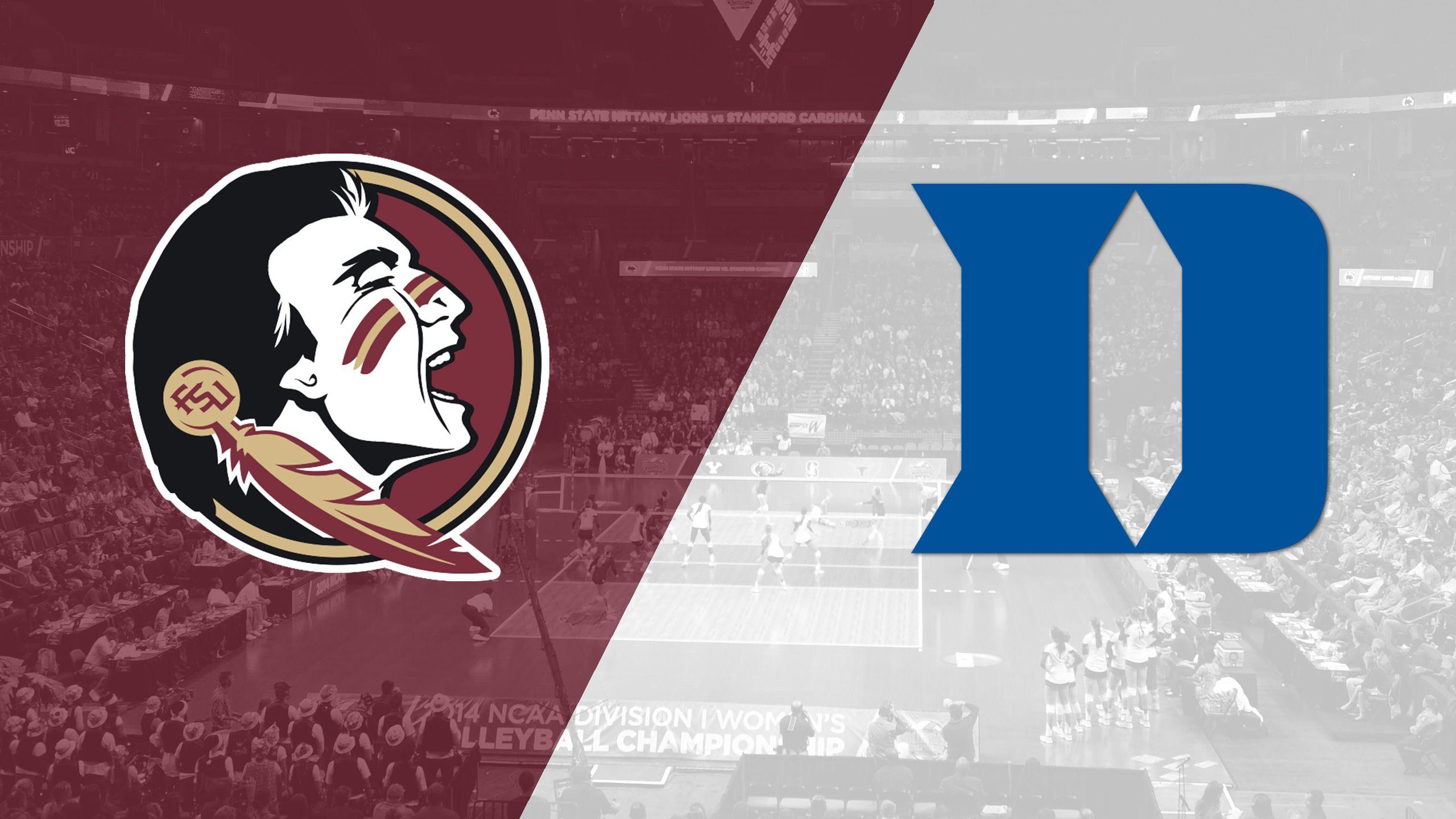 Florida State vs. Duke (W Volleyball)
