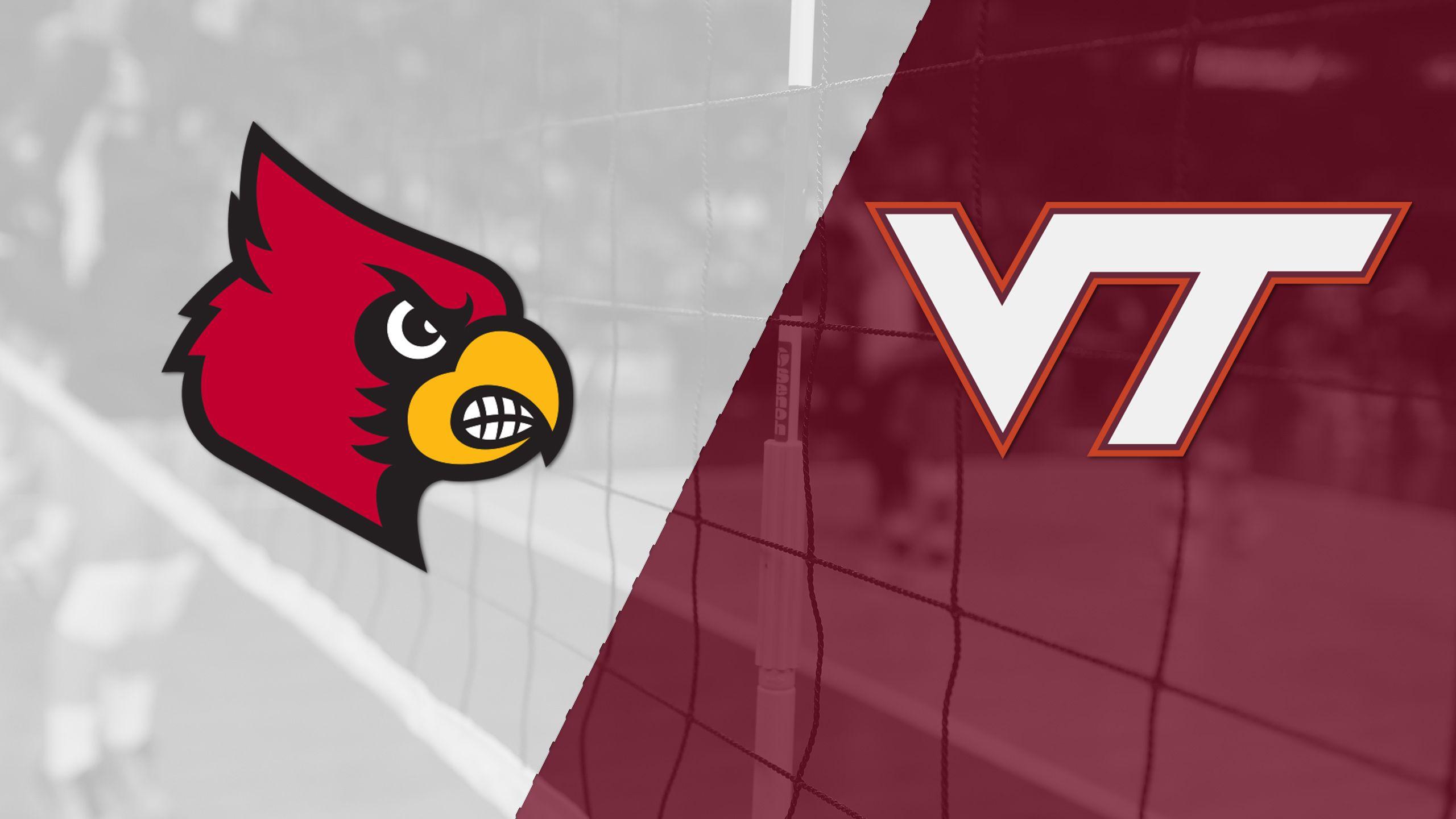 Louisville vs. Virginia Tech (W Volleyball)