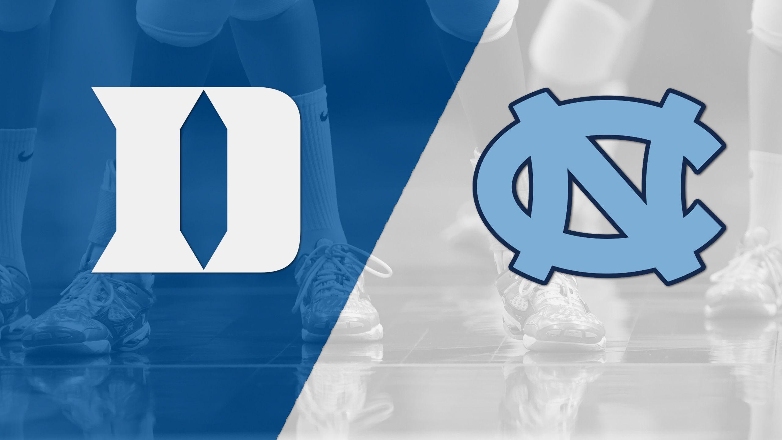 Duke vs. North Carolina (W Volleyball)