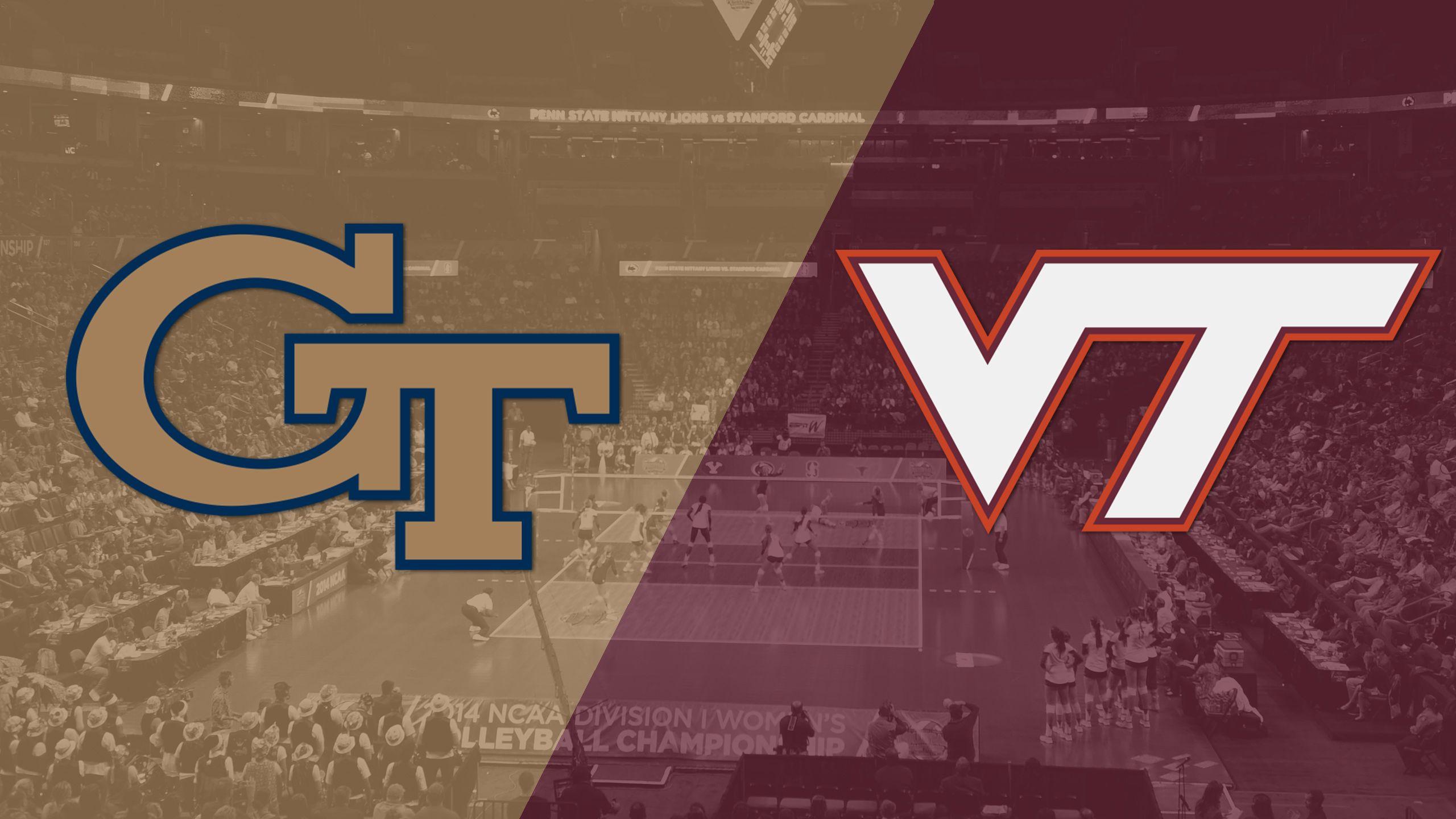 Georgia Tech vs. Virginia Tech (W Volleyball)