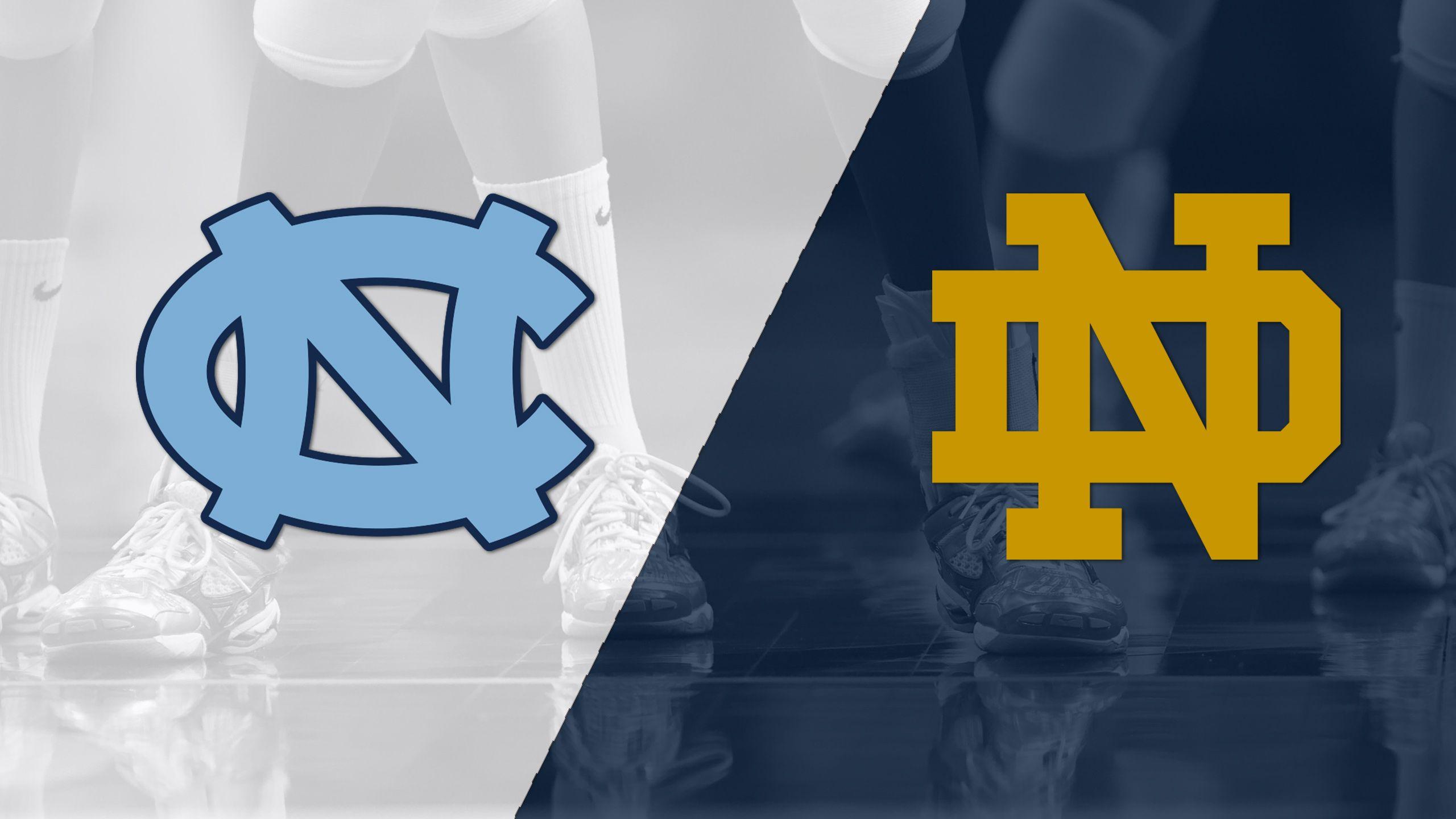 North Carolina vs. Notre Dame (W Volleyball)