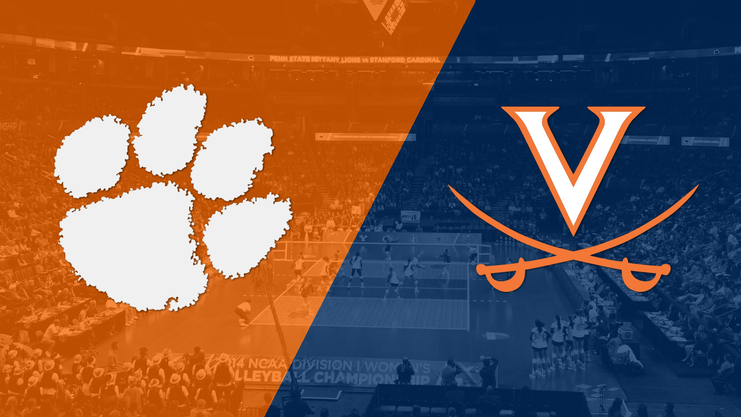 Clemson vs. Virginia (W Volleyball)