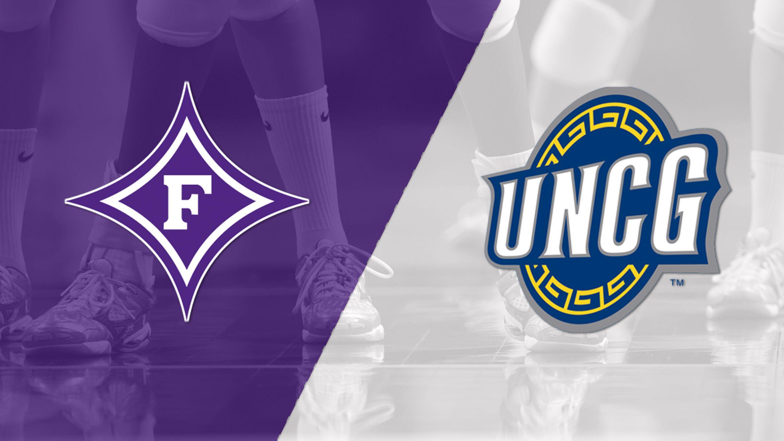 Furman vs. UNC-Greensboro (W Volleyball)