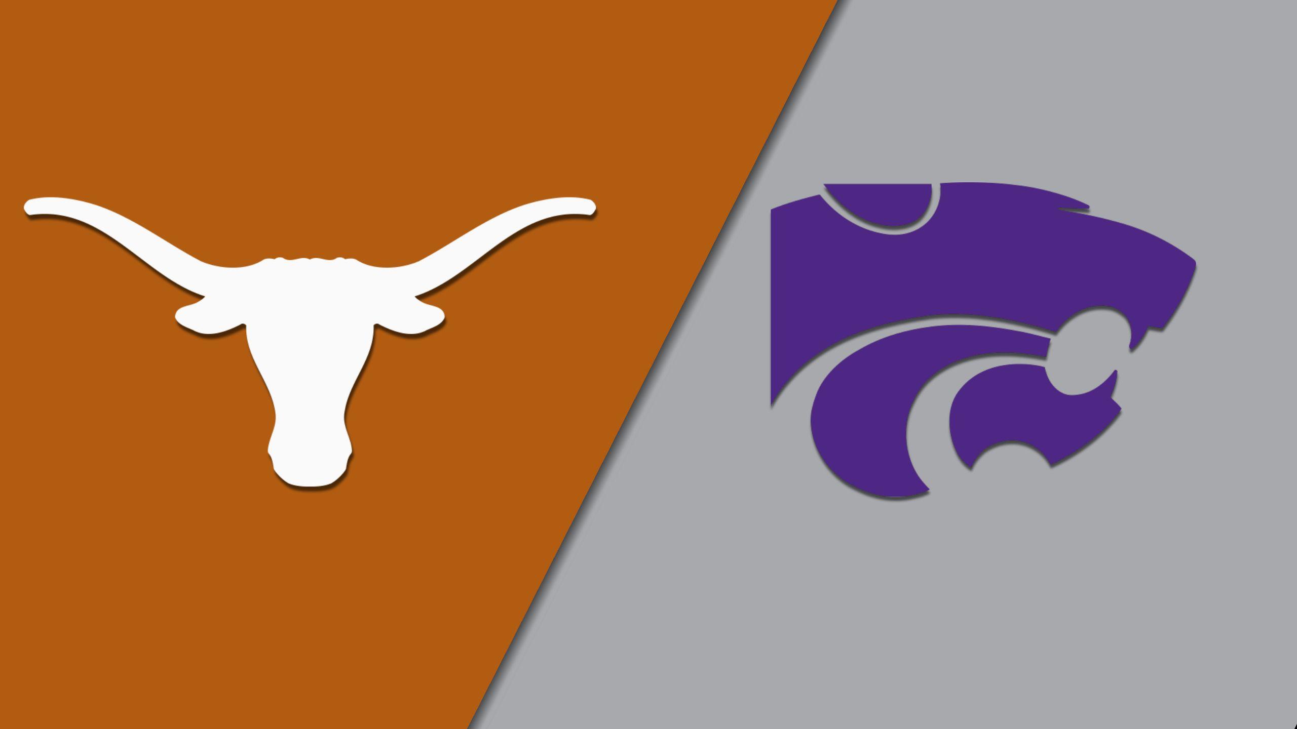 Texas vs. Kansas State (W Volleyball) (re-air)
