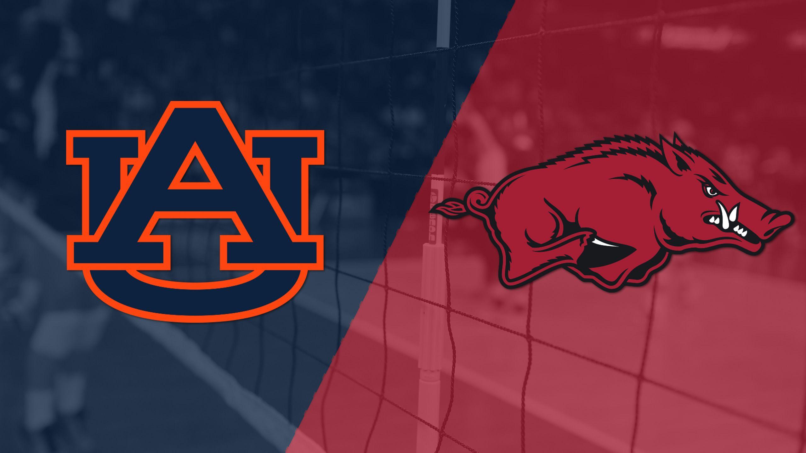 Auburn vs. Arkansas (W Volleyball)