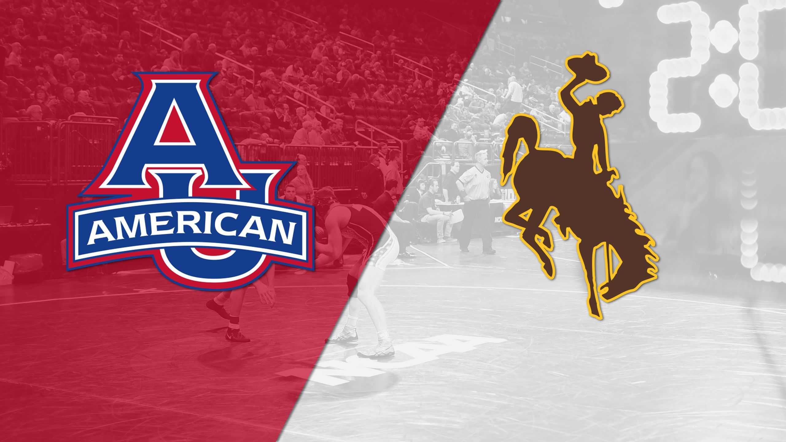 American vs. Wyoming (Wrestling)