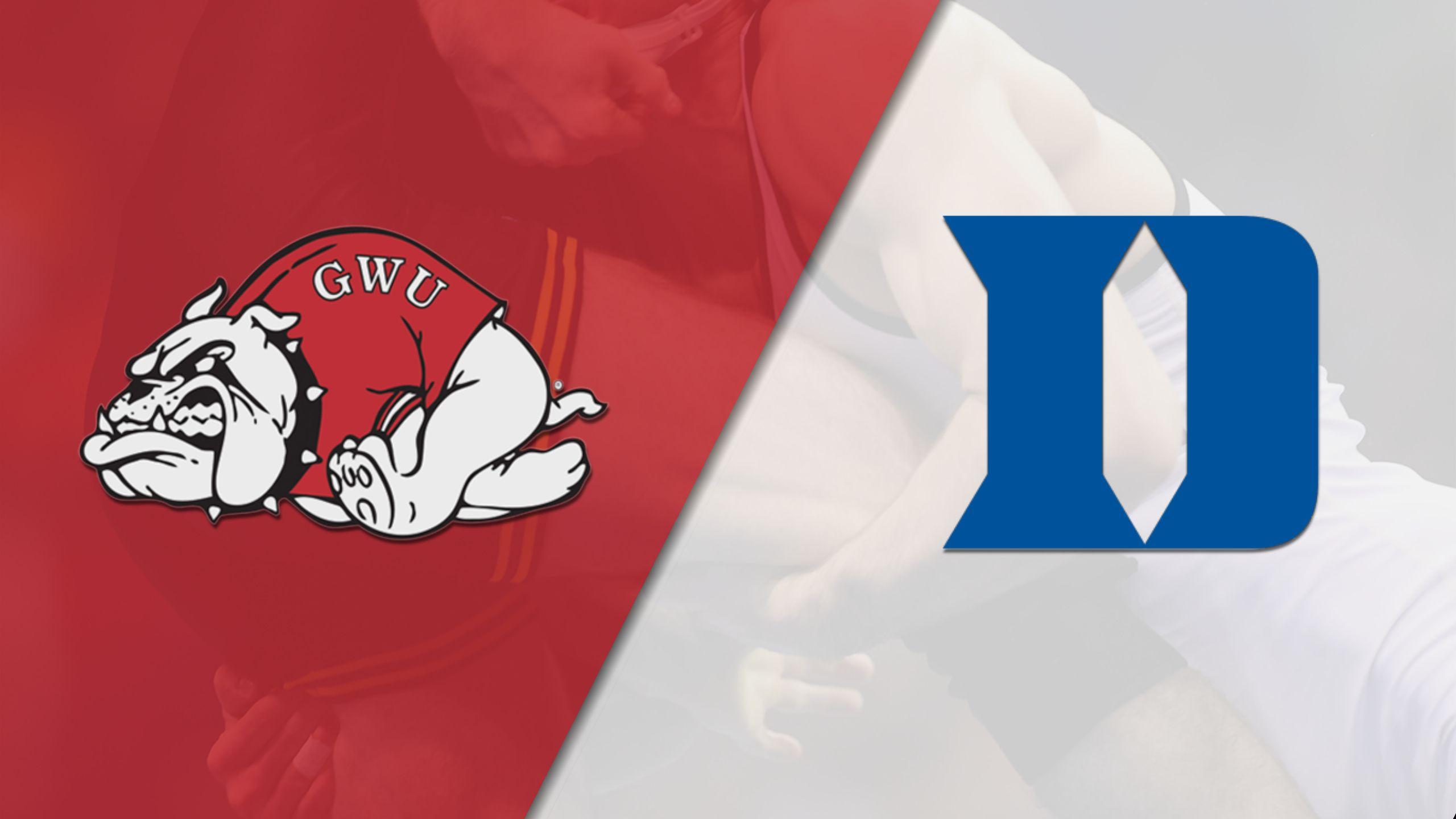 Gardner-Webb vs. Duke (Wrestling)