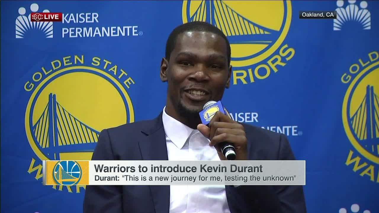 Durant needed to look Steph in eyes before committing