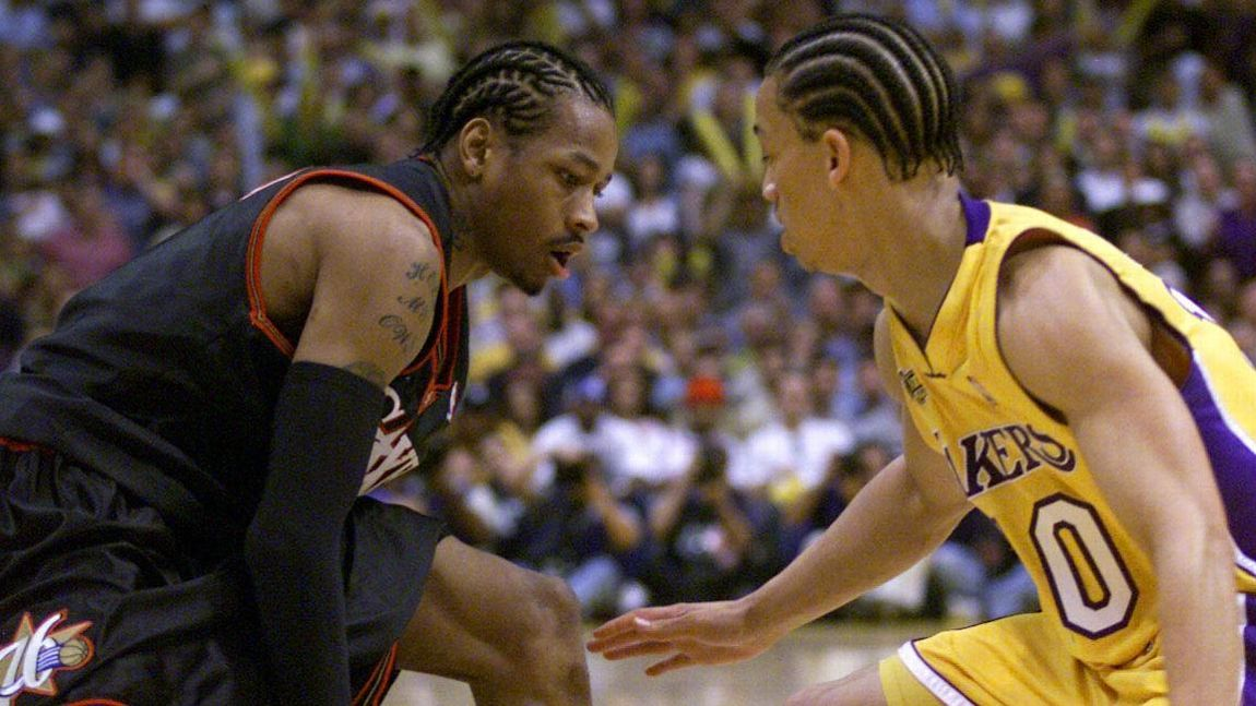 That time Allen Iverson stepped over Tyronn Lue 63410734e