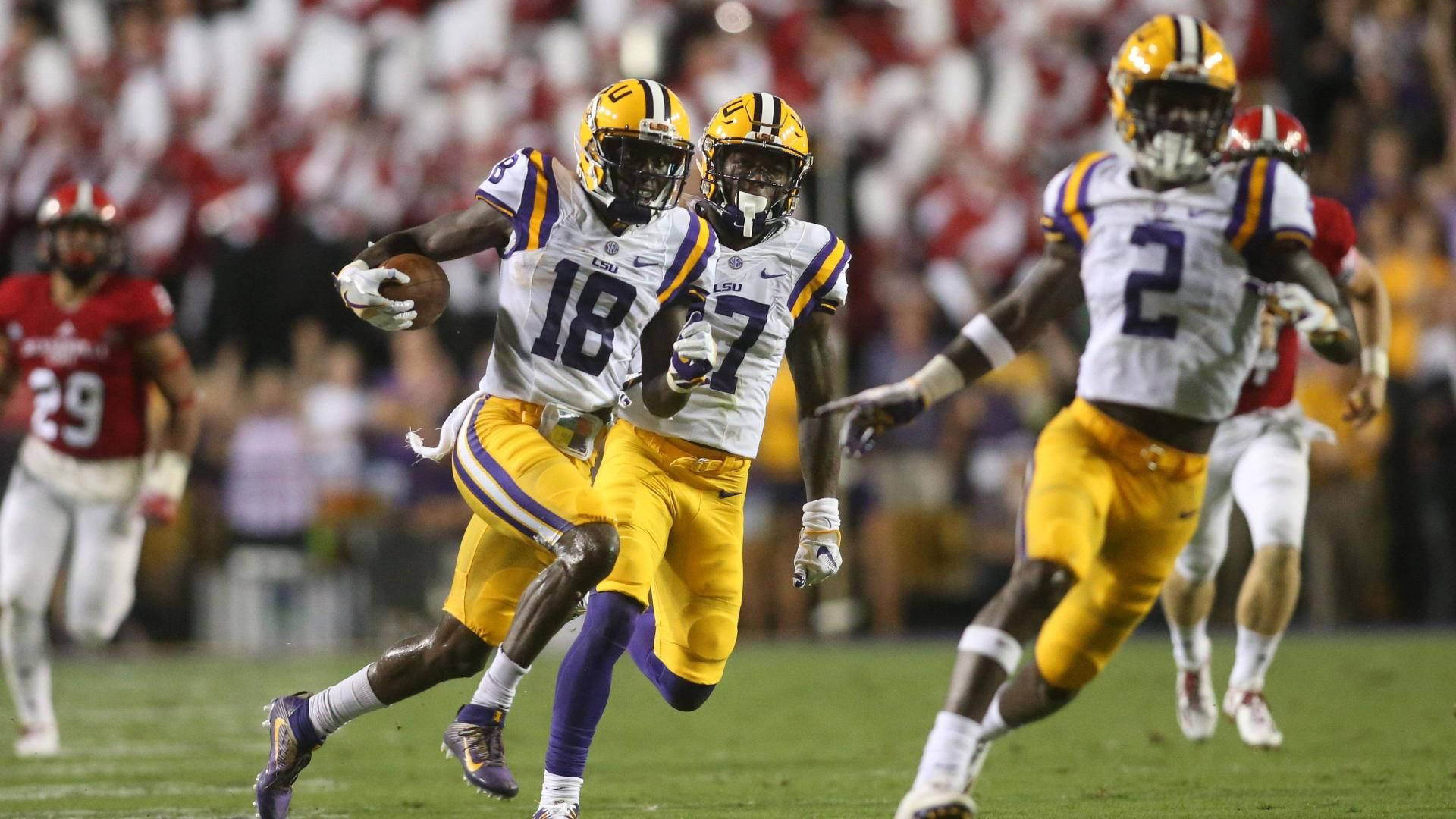 Tre'Davious White scores on must-see punt return