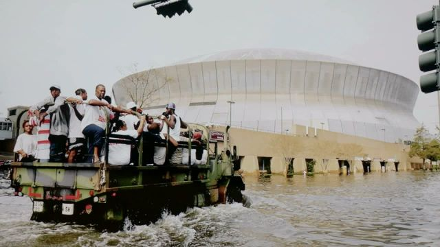 Superdome the lifeboat of New Orleans
