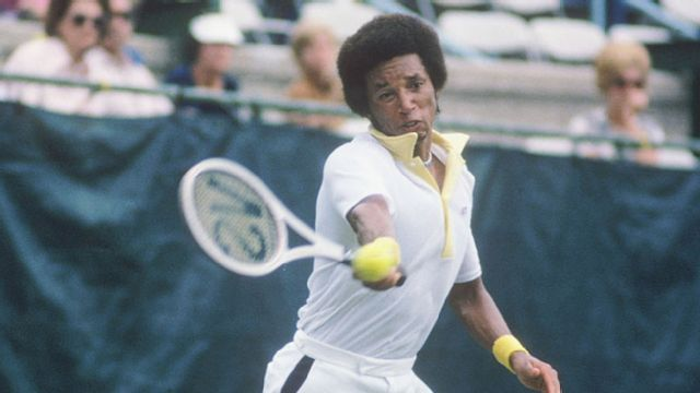 The tennis legend who made champions in a predominantly white sport