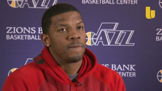 What's it like being a black NBA player in Salt Lake City, Utah?