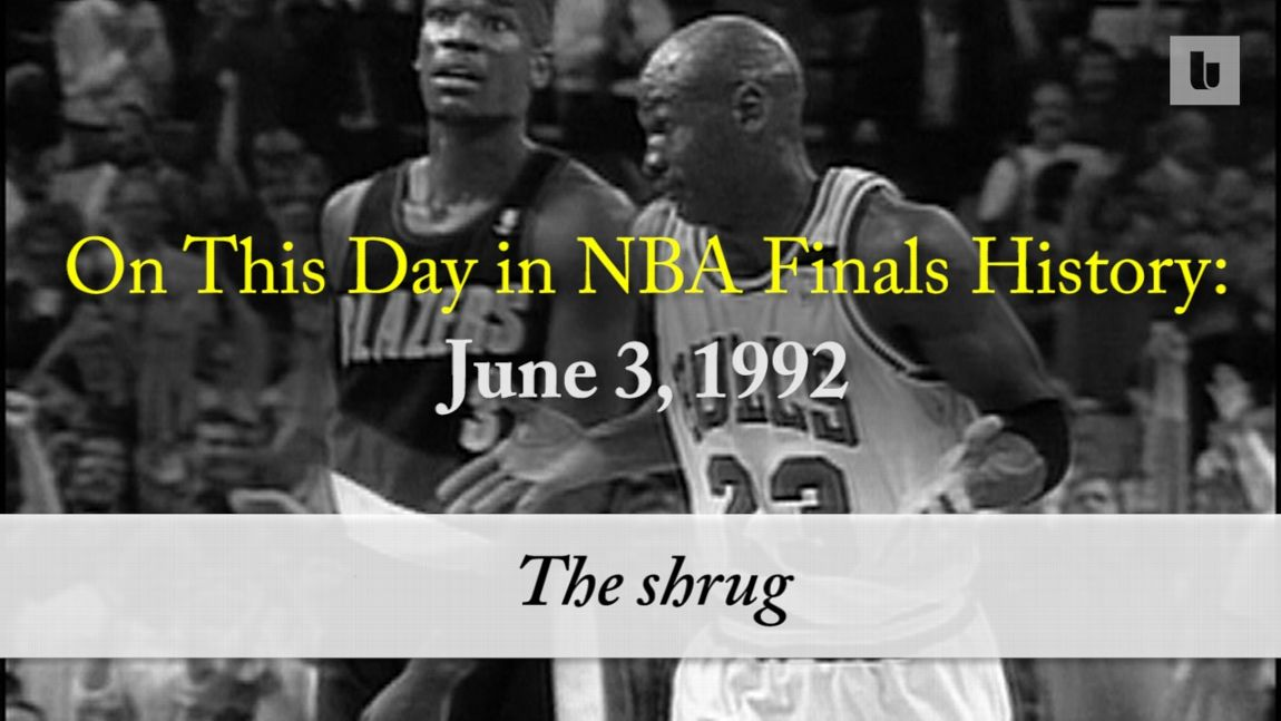 f8a8d5d824d0 On this day in NBA Finals history  Michael Jordan s  Shrug Game