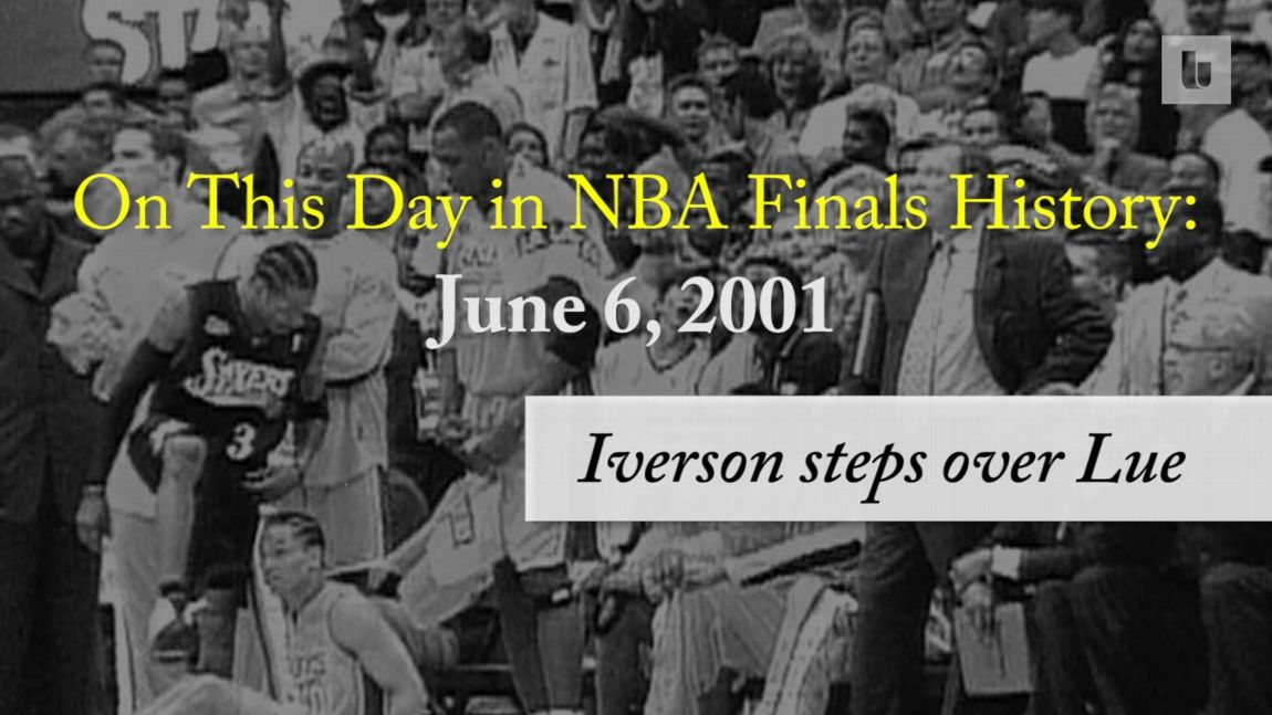 On this day in NBA Finals history  Allen Iverson steps over Tyronn Lue 54832664c