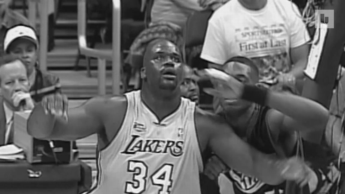 baa7b6d50 On this day in NBA Finals history  Shaquille O Neal drops a near  quadruple-double