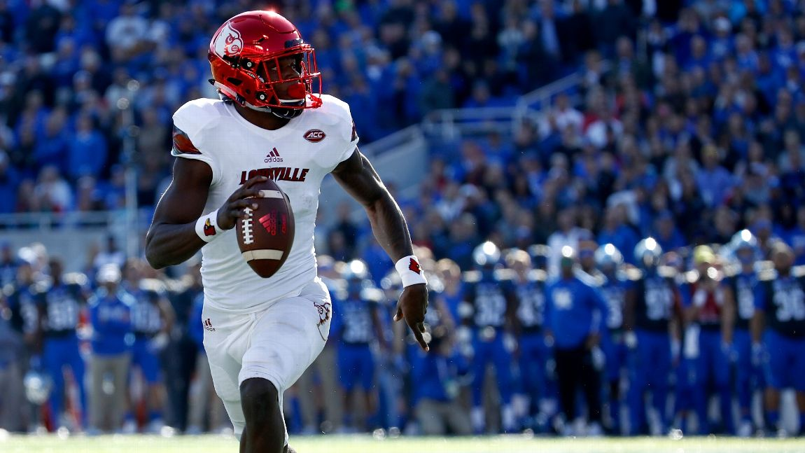 a7cd2d860 Lamar Jackson could change the NFL — if he gets the chance