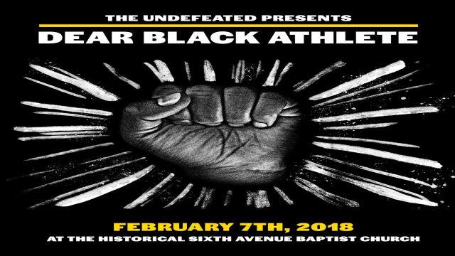 Dear Black Athlete part 4