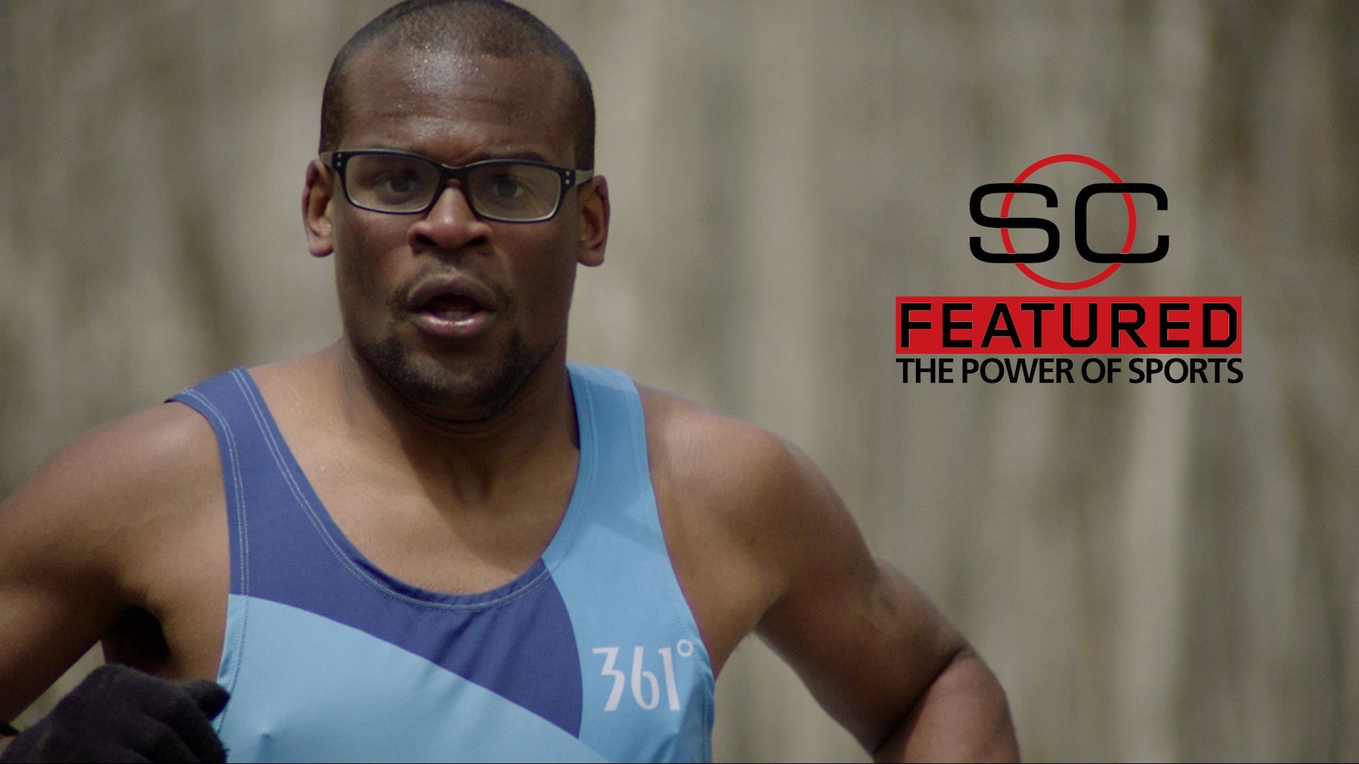 Special Olympics athlete Andrew Peterson was born to run