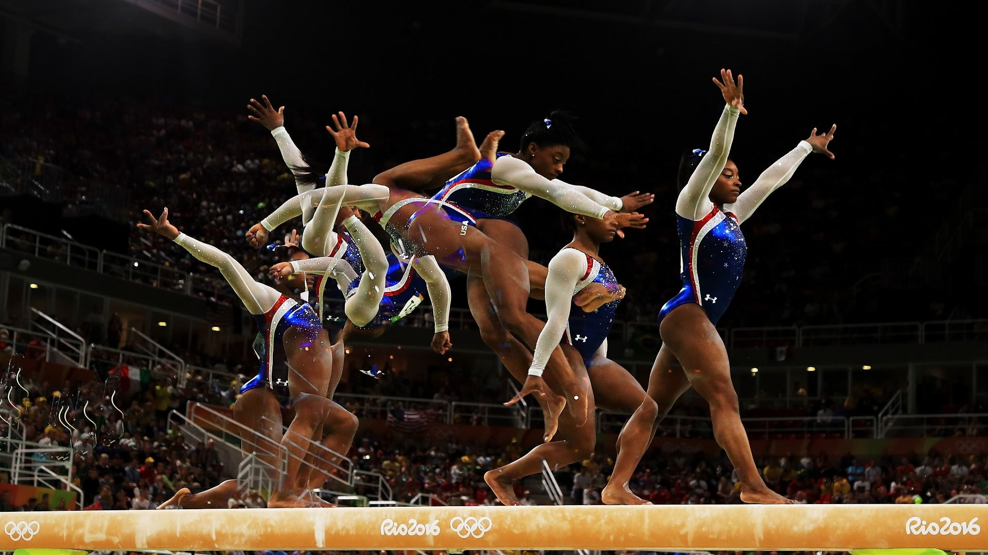 Biles Was Forced To Be A Contender All Her Life