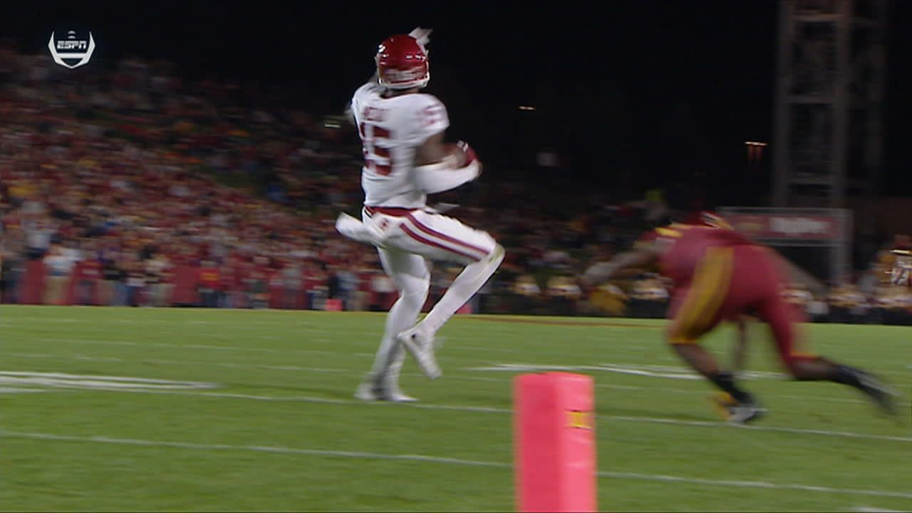 Mead puts in extra effort for Oklahoma's second TD