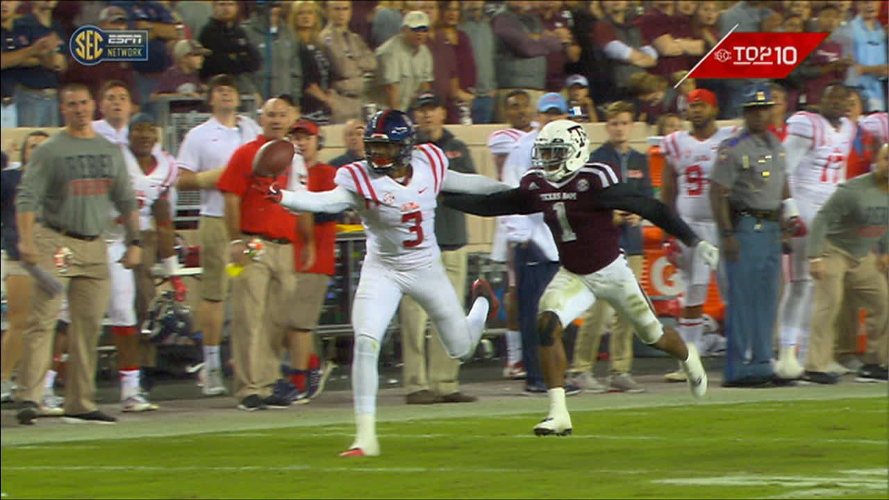 Stringfellow's spectacular one-handed bobbling catch